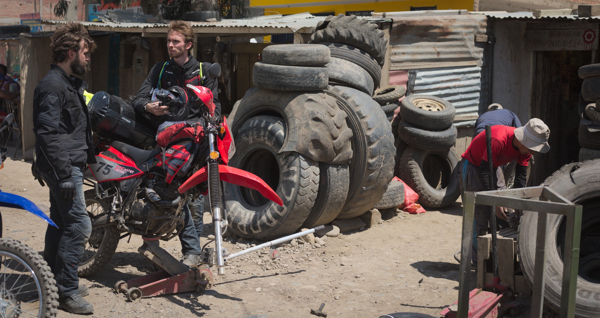three friends quit their jobs to ride south america on dirt bikes these three fine specimens of unequalled chinese engineering were supplied by toby an american engineer we had found through some rather convoluted