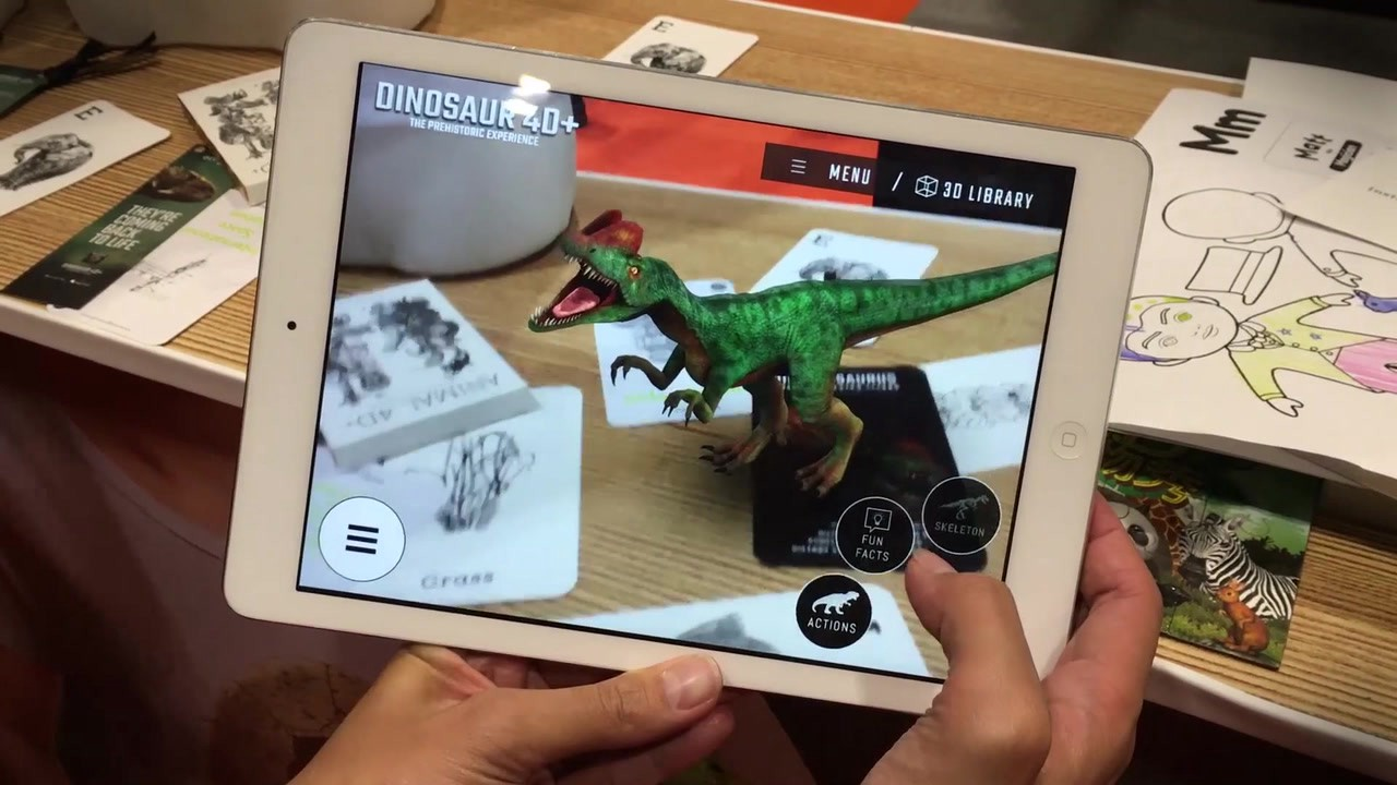 Augmented Reality Apps For Education Virtual Reality Pop