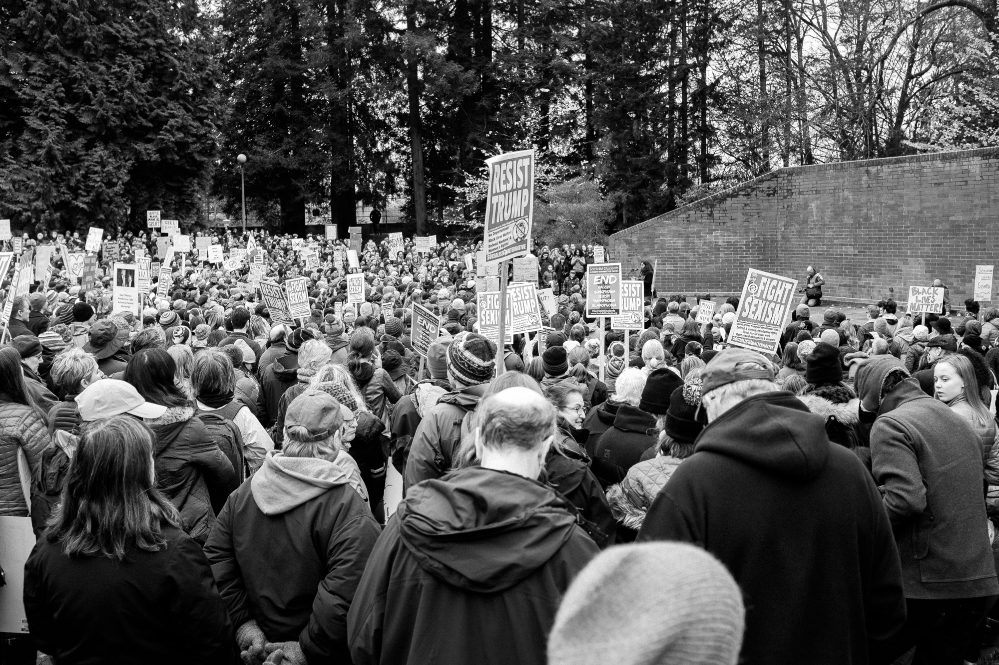 photo essay seattle women against hate danny ngan  photo essay seattle women against hate