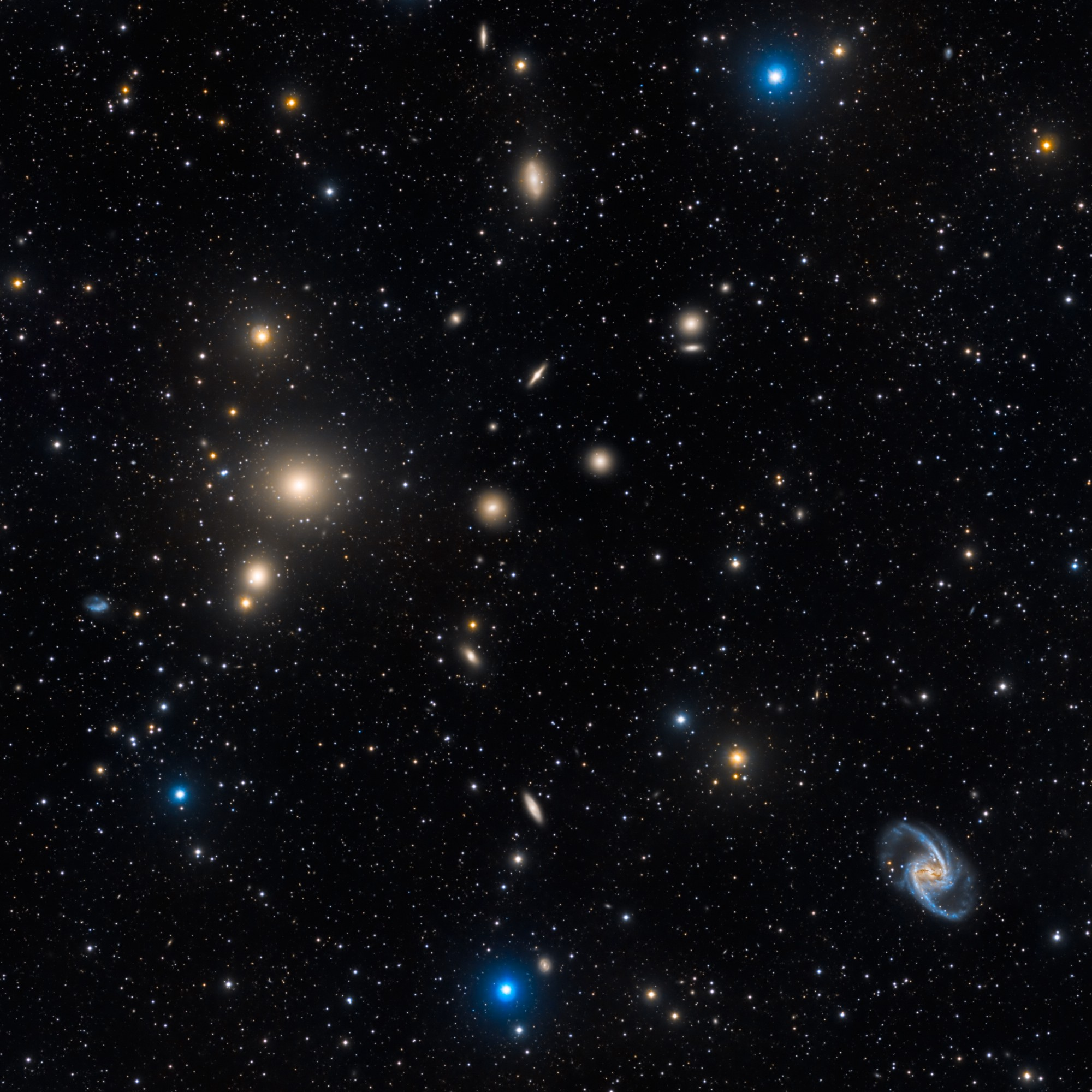 rps in galaxy clusters analysis Enormous galaxy cluster = 3 million billion suns galaxy clusters are the largest objects in the universe that are bound (reionization lensing cluster survey.