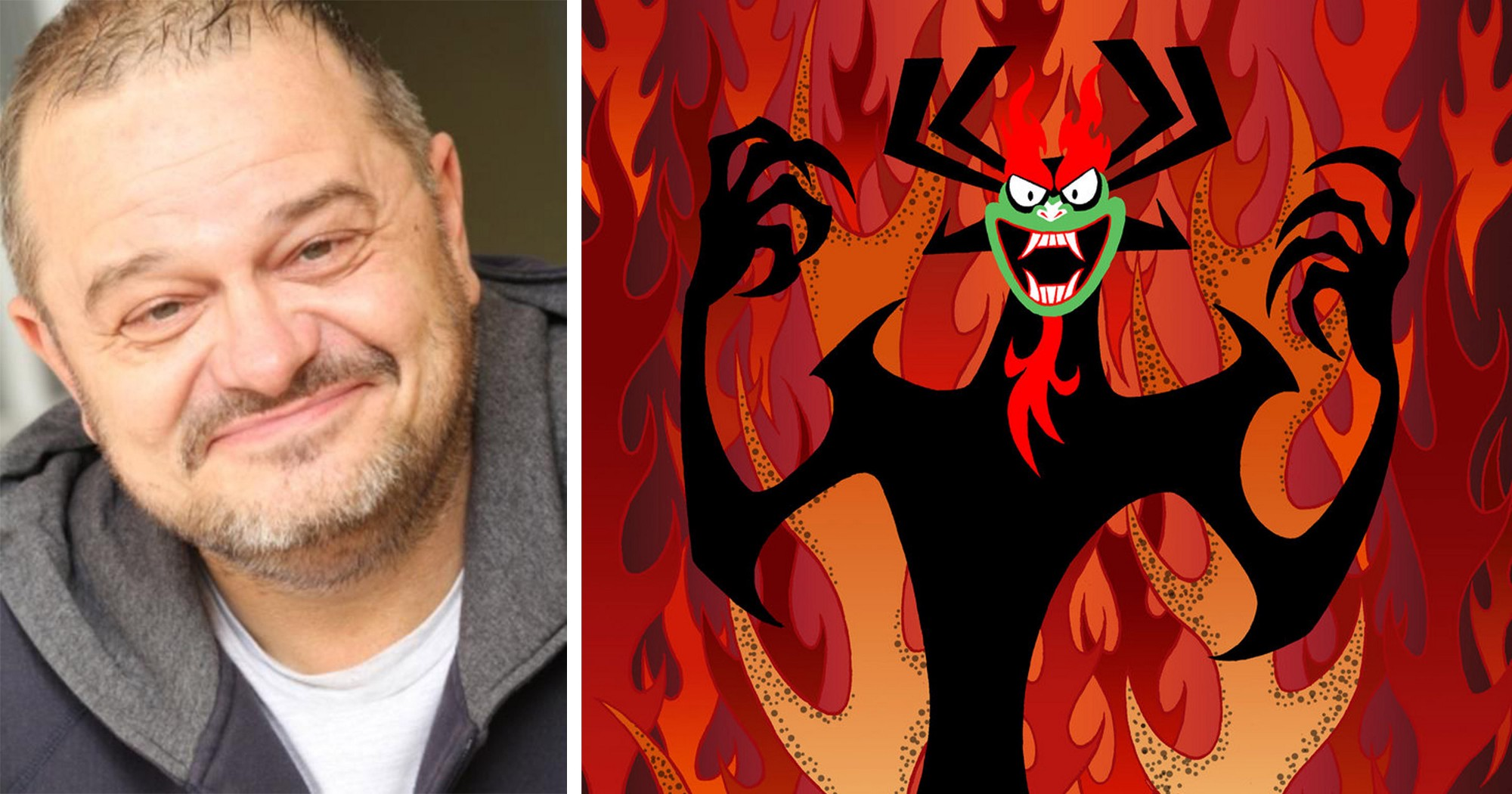 The new voice actor responsible for Aku on 'Samurai Jack' talks about what  it's like to take over for Mako Iwamatsu.