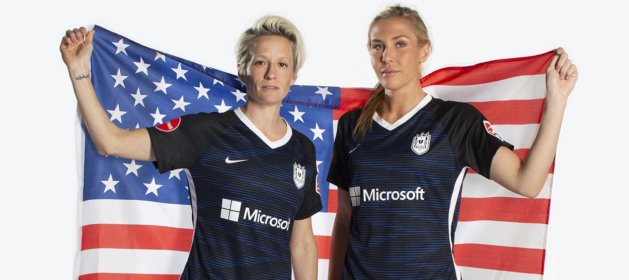 Rapinoe and Long Named to US Women's National Team for November Friendlies