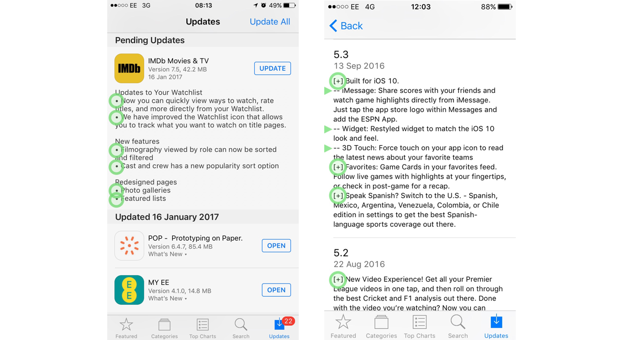 As a Designer I want better Release Notes – UX Collective