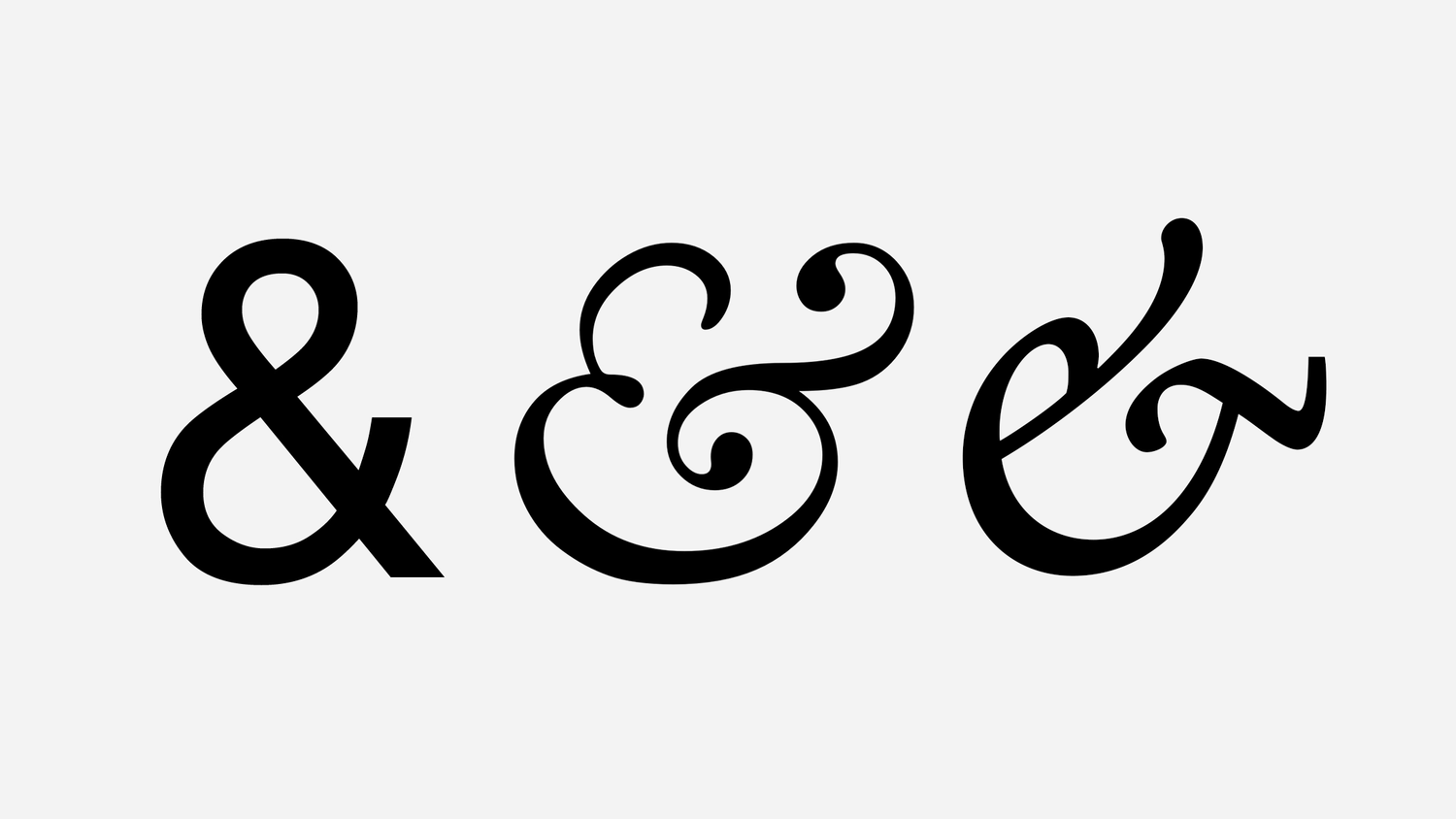 the history of the ampersand black lion banner medium