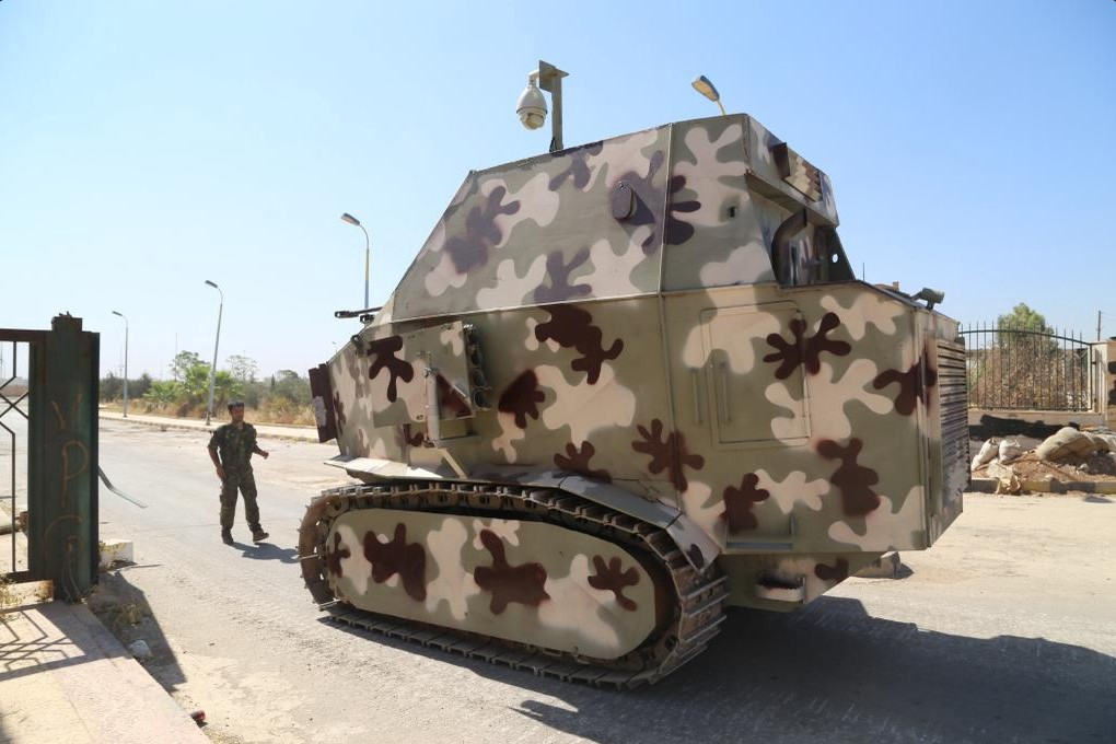 Check Out These Homemade Kurdish Tanks War Is Boring