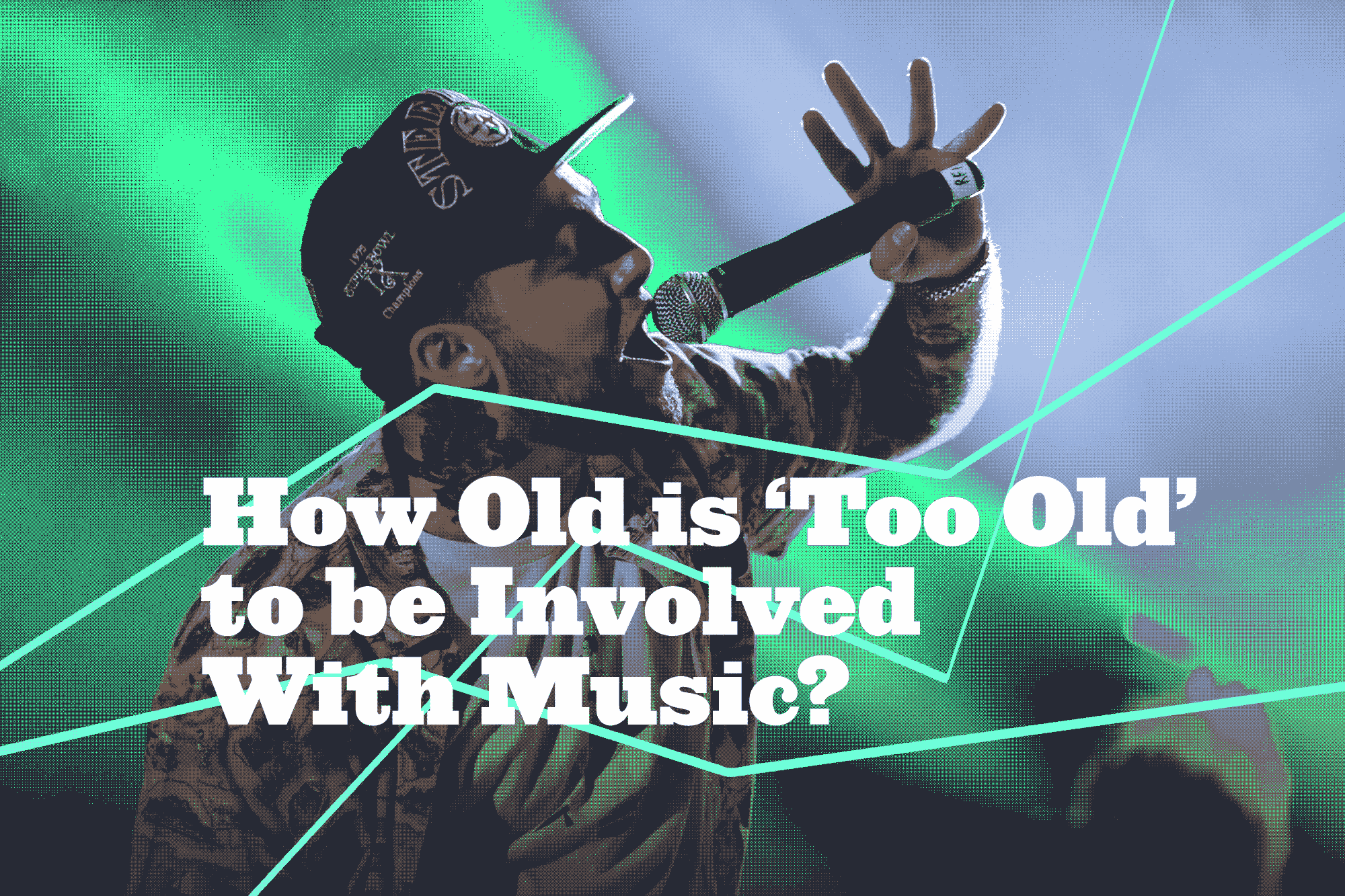 how old is too old to be involved with music cuepoint medium