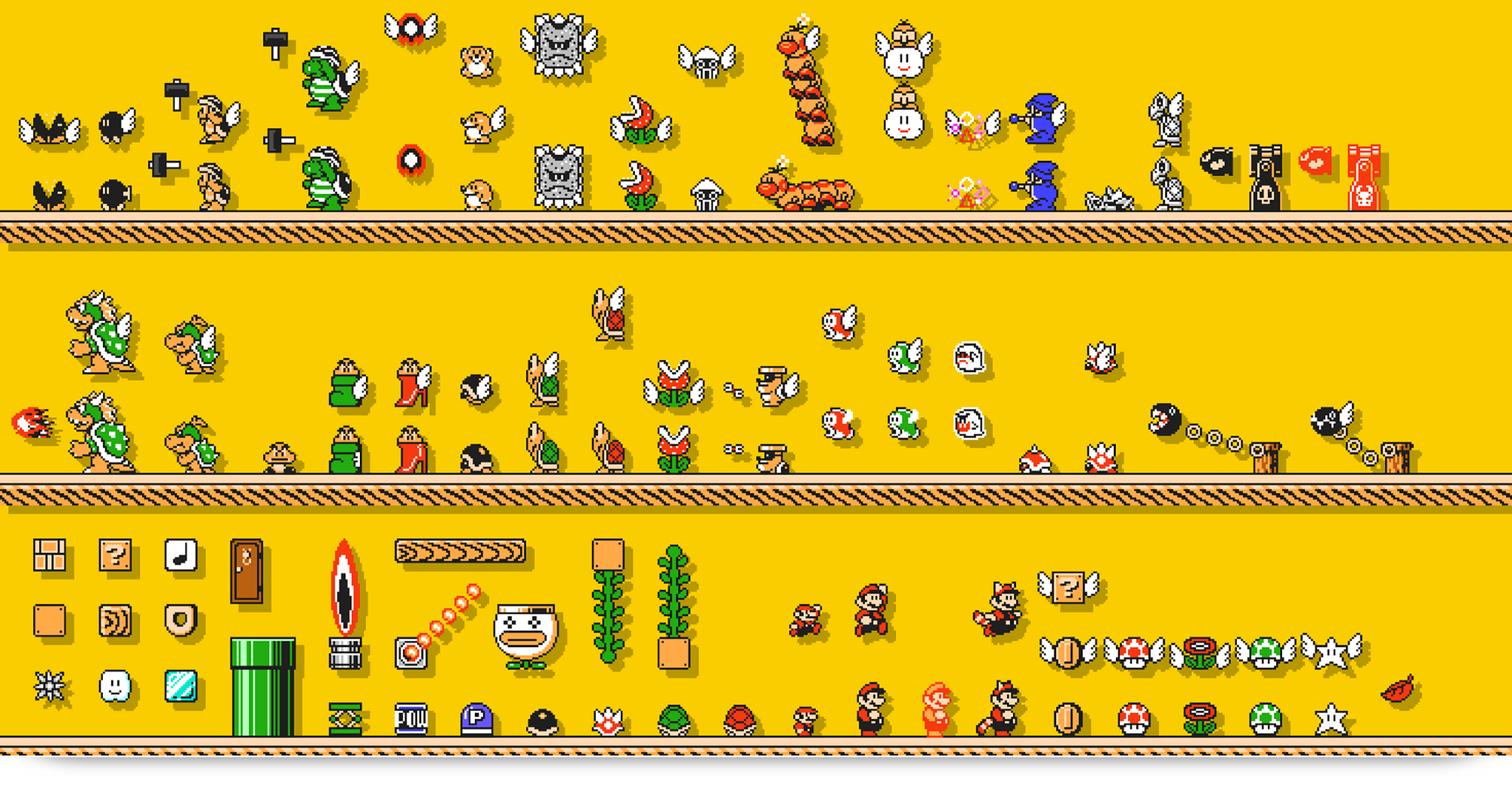 The top 10 things that should be in super mario maker for for Be a maker