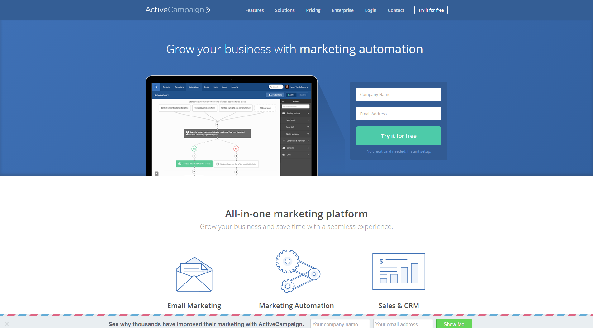 63 best digital marketing tools you should know about in 2018 in a few hours playing with it you can set up a whole customer journey from the time of the registration of the user to sending him personalized emails fandeluxe Choice Image