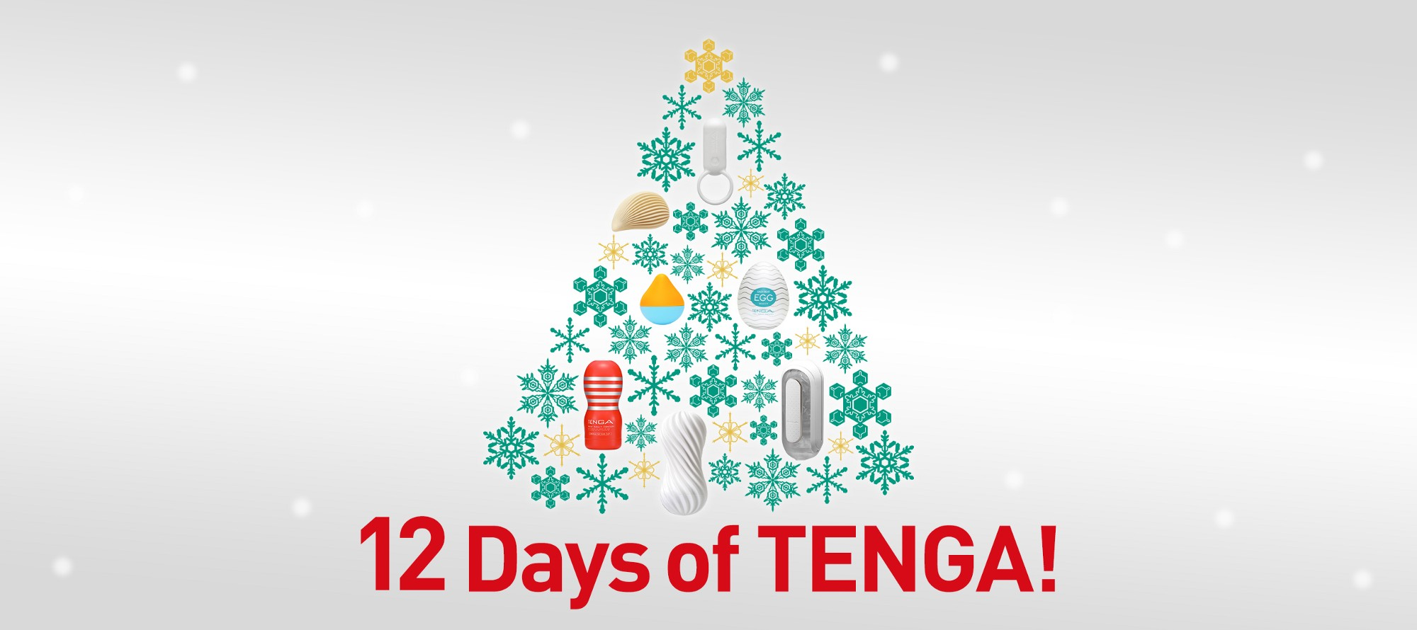 12 Days of TENGA: It\'s a global holiday giveaway extravaganza!