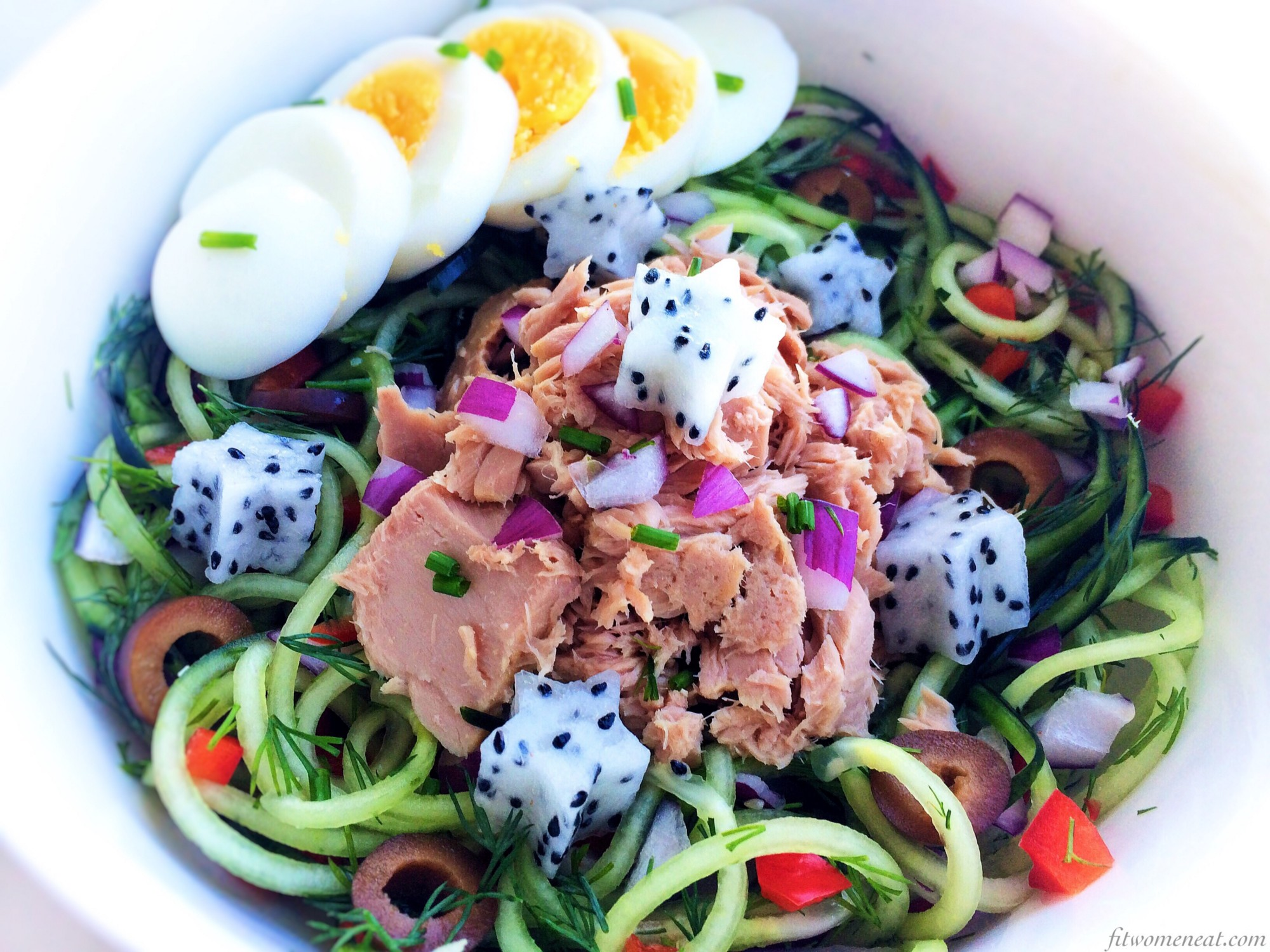 Tuna fish salad for lunch fit women eat for What do tuna fish eat