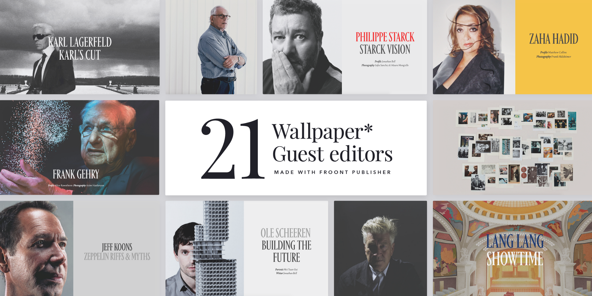 Case Study Wallpaper Magazine Creates Its Largest Ever Digital Publication Using Froont Publisher