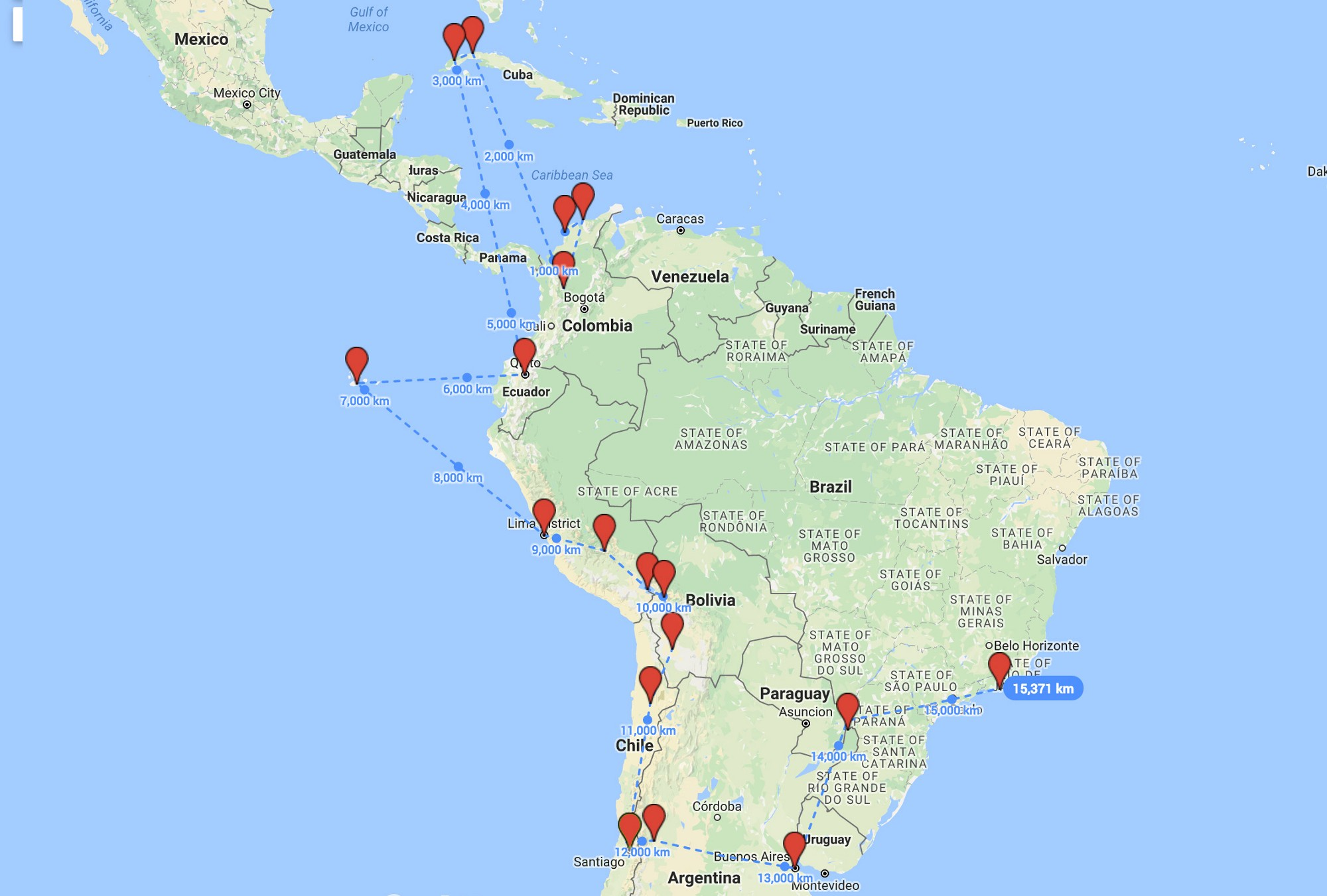 Working remotely south america cuba float what i learnt working remotely across south america cuba gumiabroncs Gallery