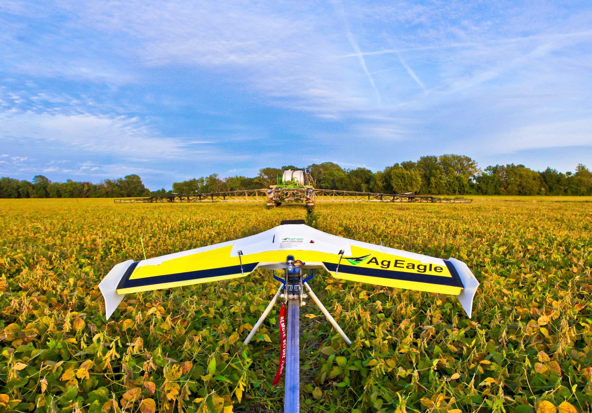 agricultural drones • the drone market is estimated to be an $8 billion market and agriculture is projected to be 80% of the total market • the agriculture drone market.
