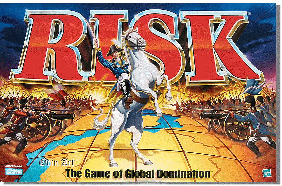 Drinking Game Risk Board Game