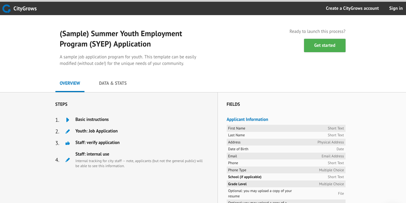 summer youth employment program syep applications with citygrows