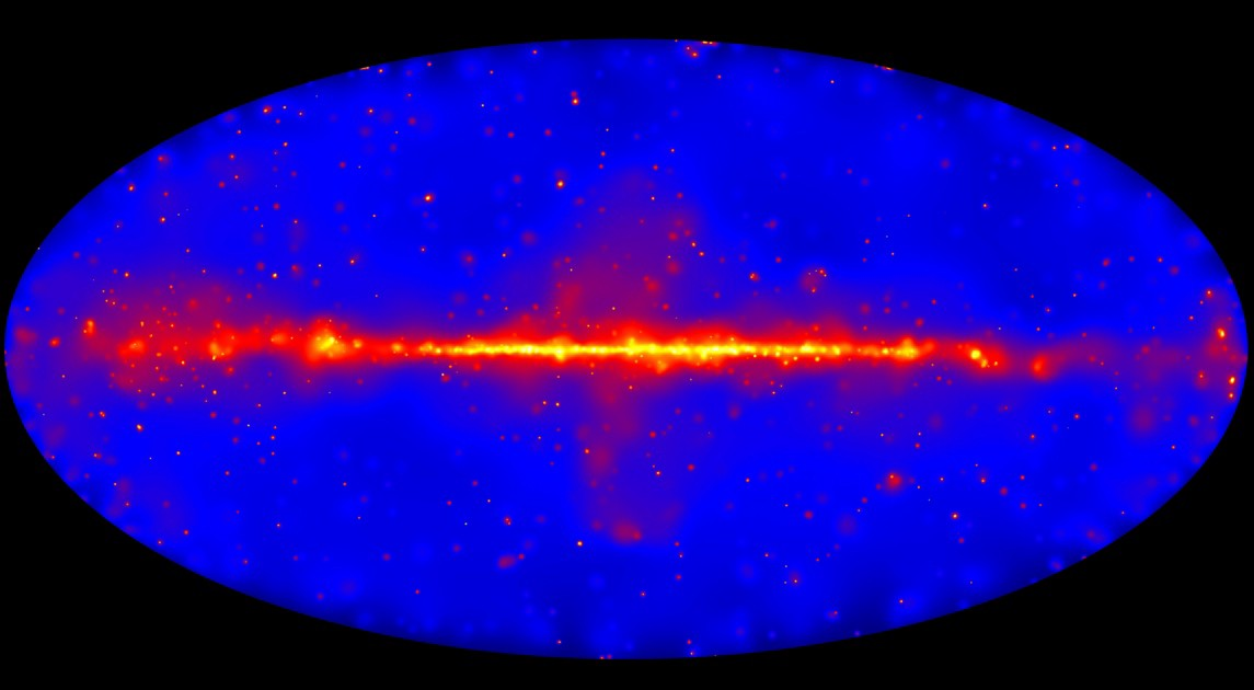 Nasa S Fermi Satellite Completes Map Of The Sky Finds