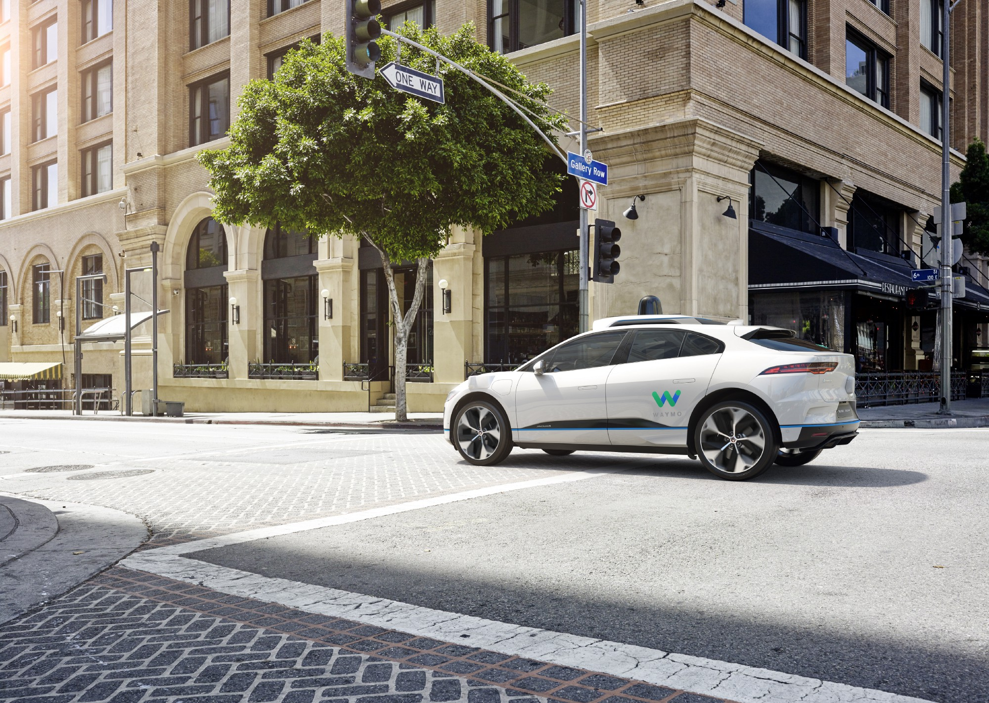 Waymo to buy Jaguars for robotic ride-hailing service