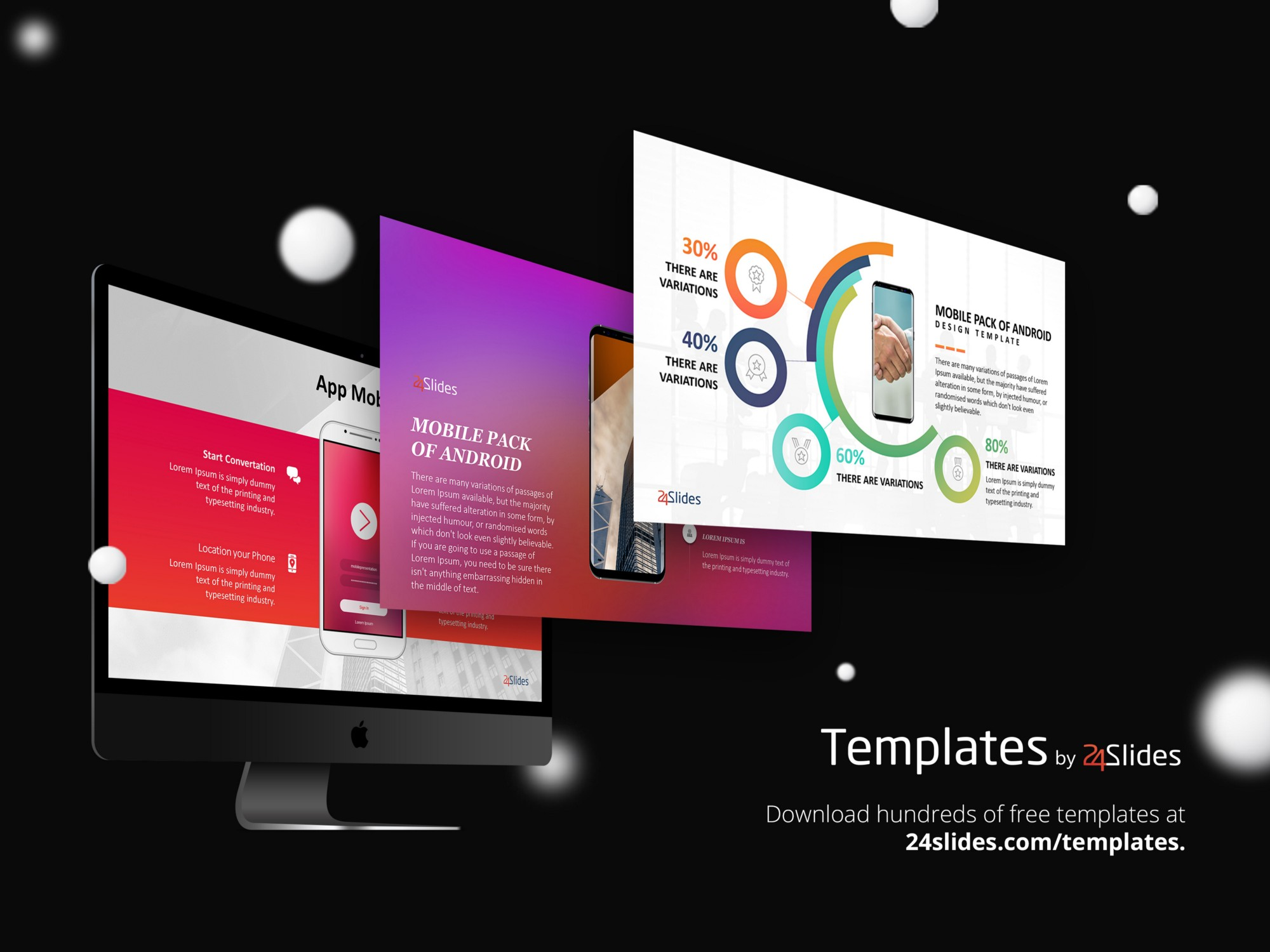 android mobile presentation template pack free download