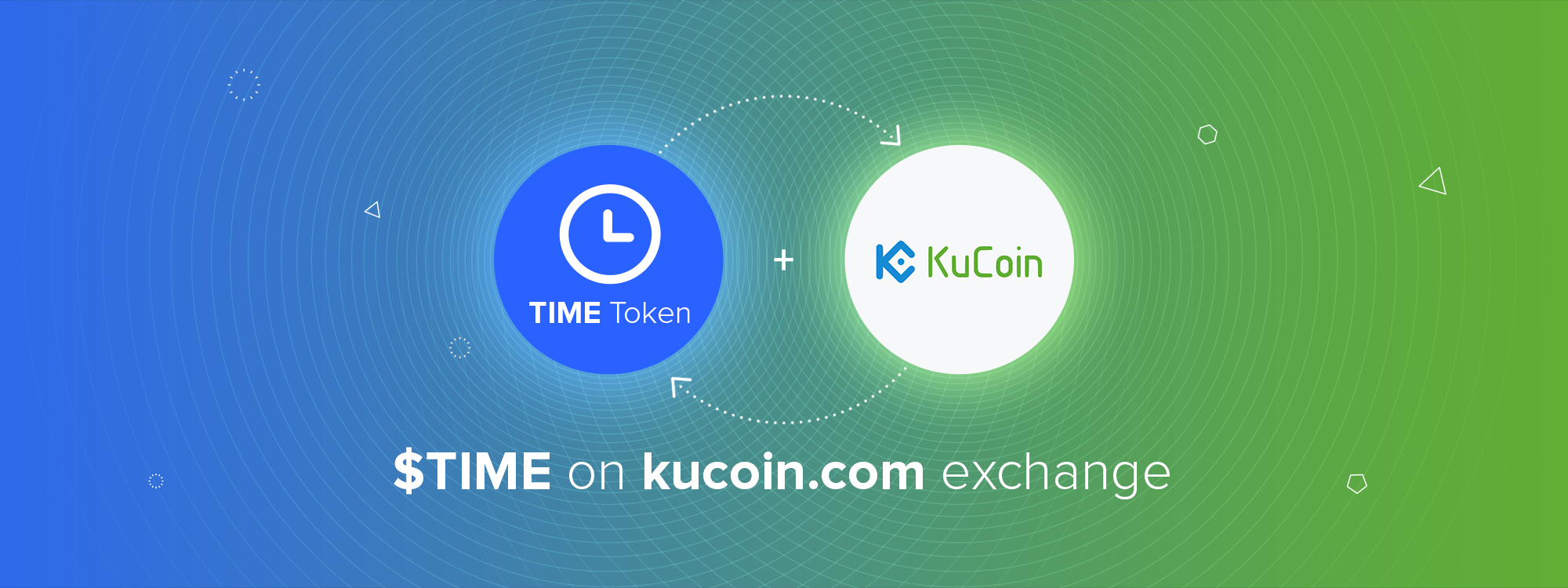 TIME Lists On KuCoin