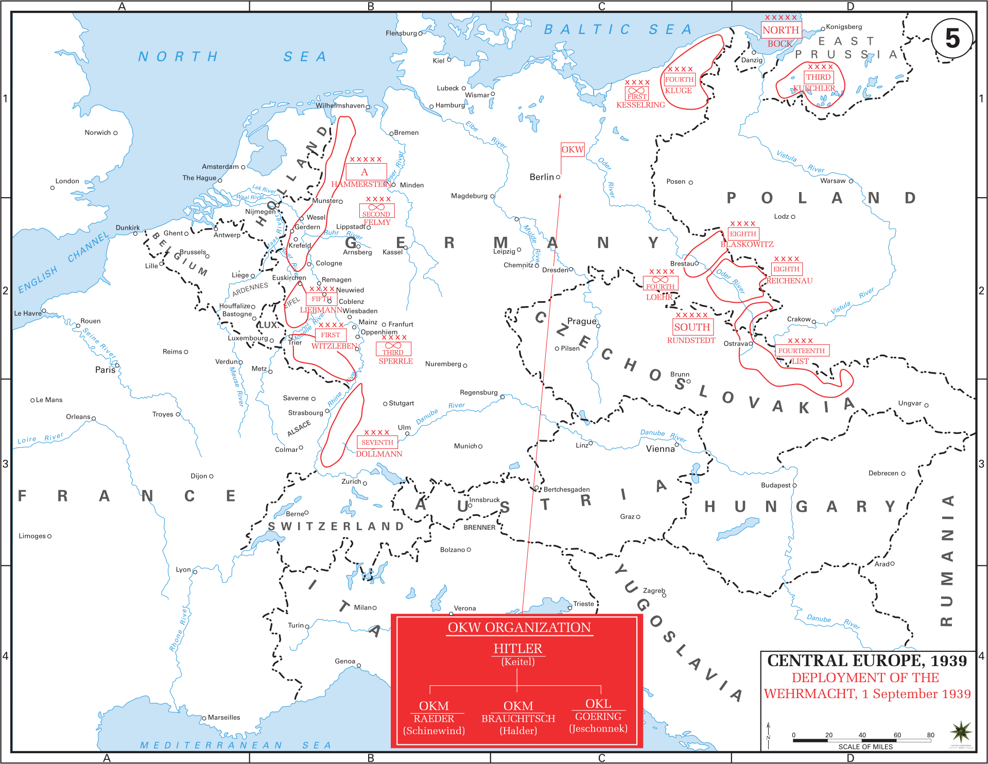Eastern front maps of world war ii inflab medium campaign in poland deployment of the wehrmacht 1 september 1939 gumiabroncs Choice Image
