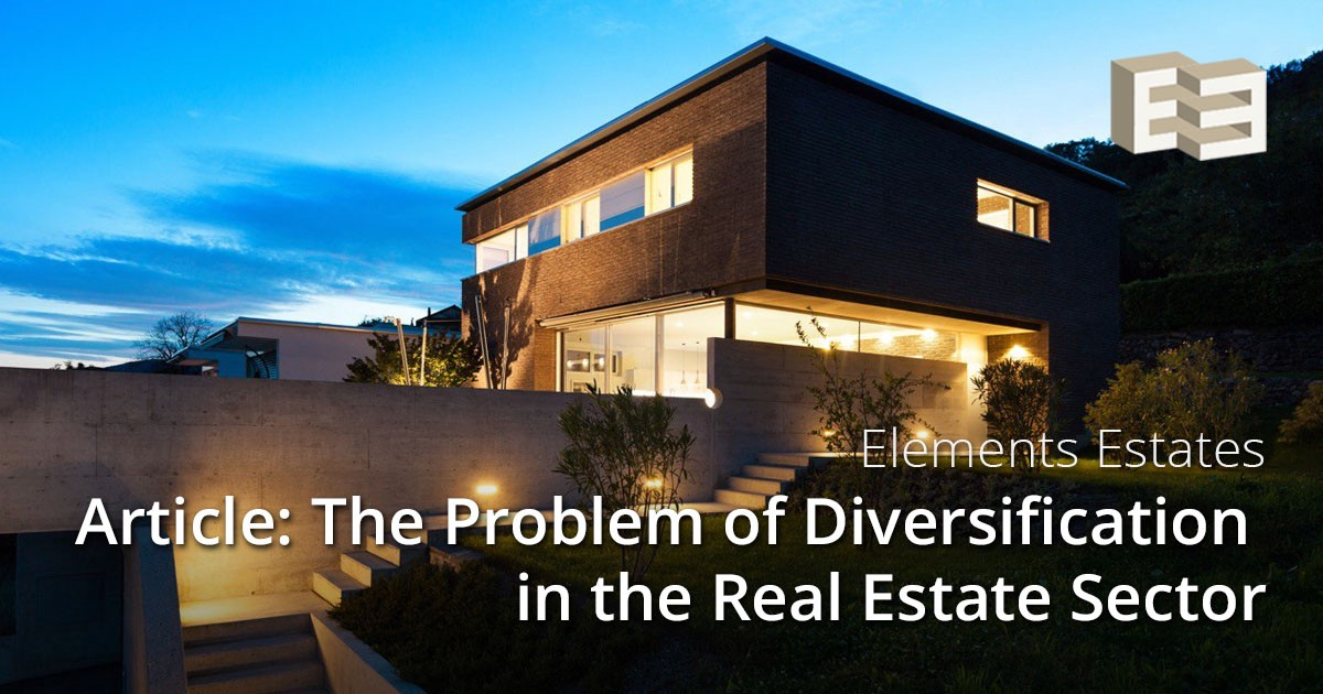medium.com - Cryptomizers - The Problem of Diversification in the Real Estate Sector
