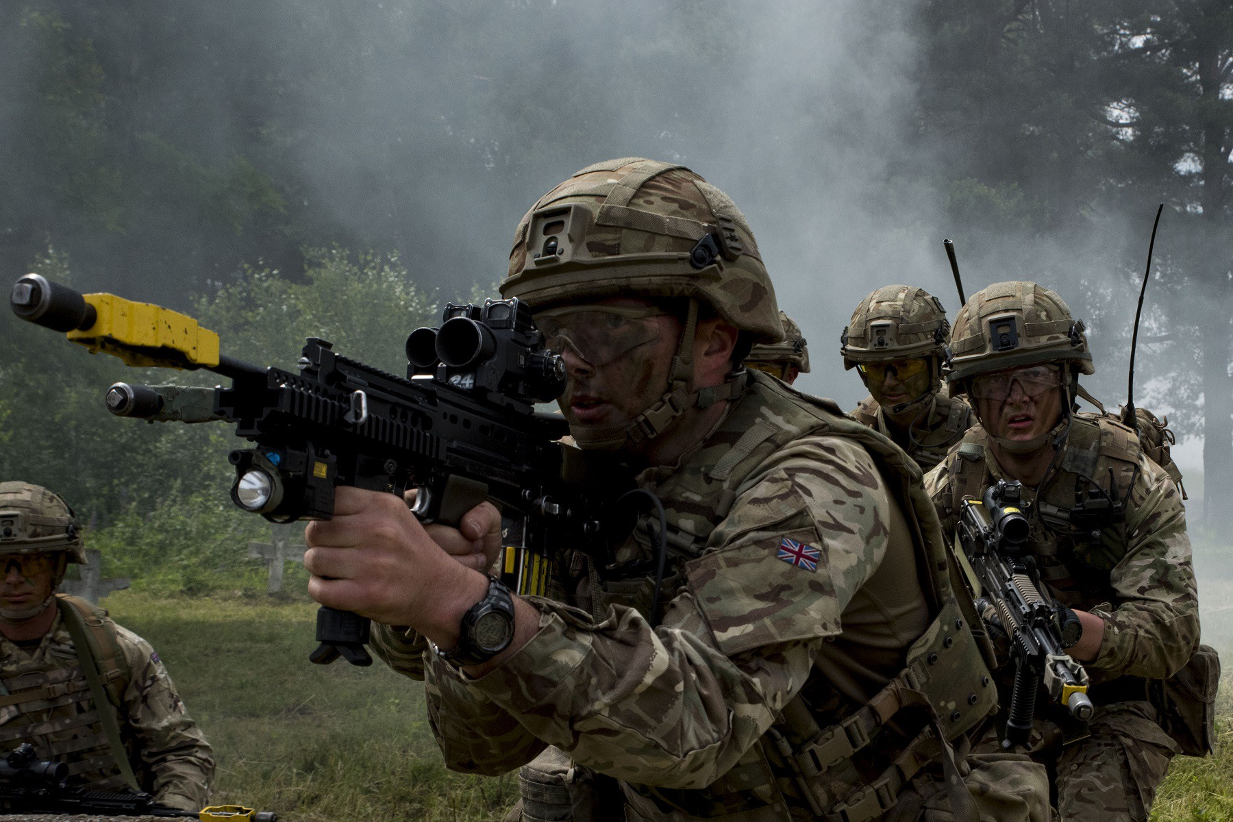 how to become a sniper in the british army