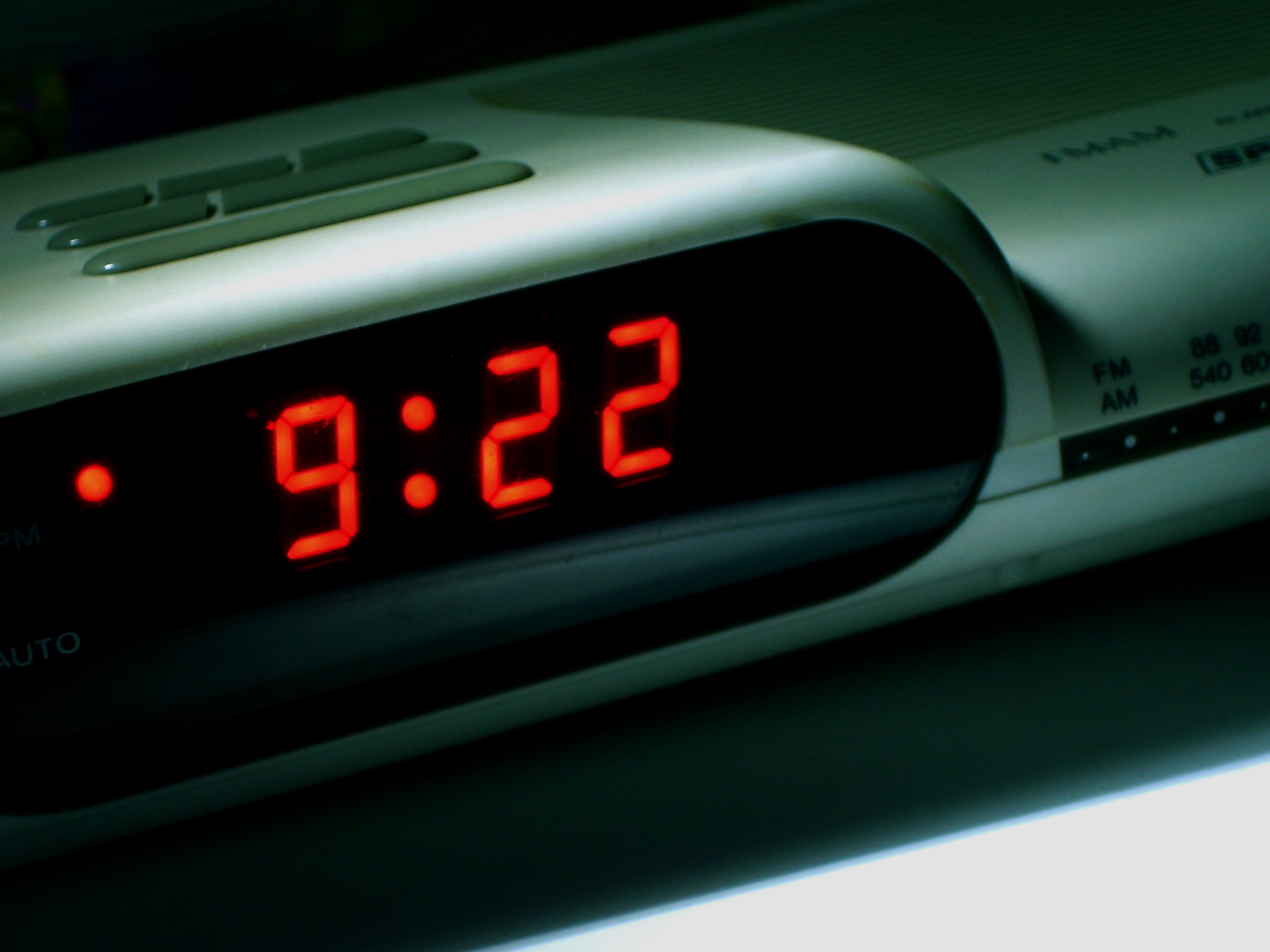 Digital Alarm Clock History The Worst Part Of Waking Up Game Show Timer Buzzer Electronic Circuits Its Way Bleeds Into Your Eye Sockets Douglas Heriot Flickr