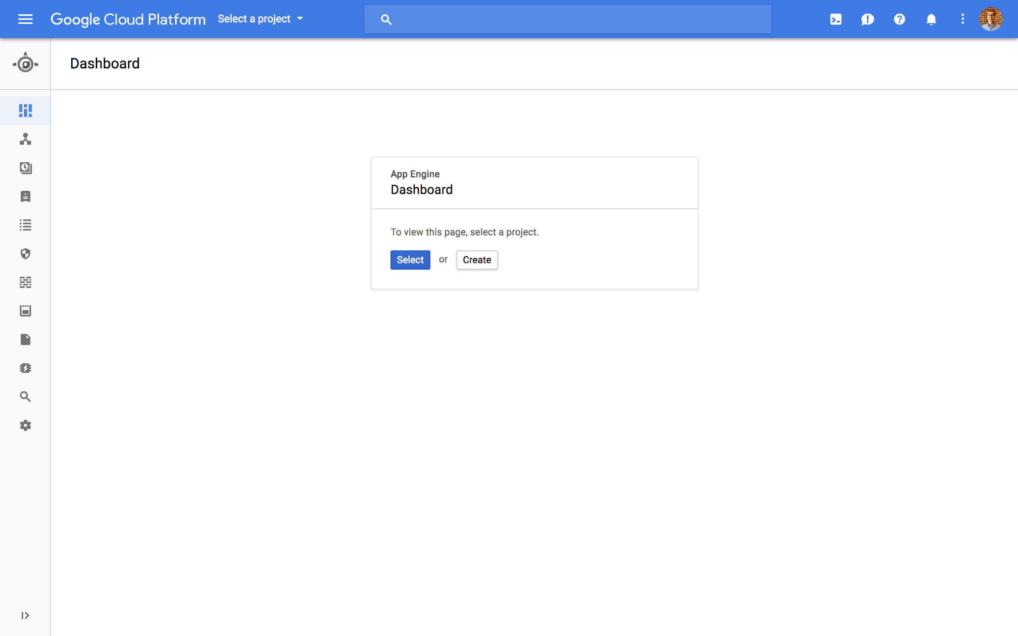 how to use google cloud for website