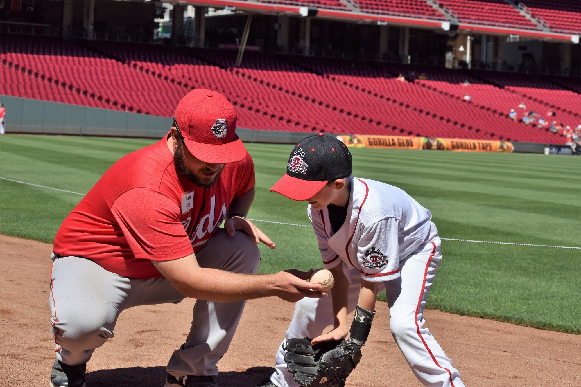 For more info on Reds Baseball Camps please visit Reds Camps