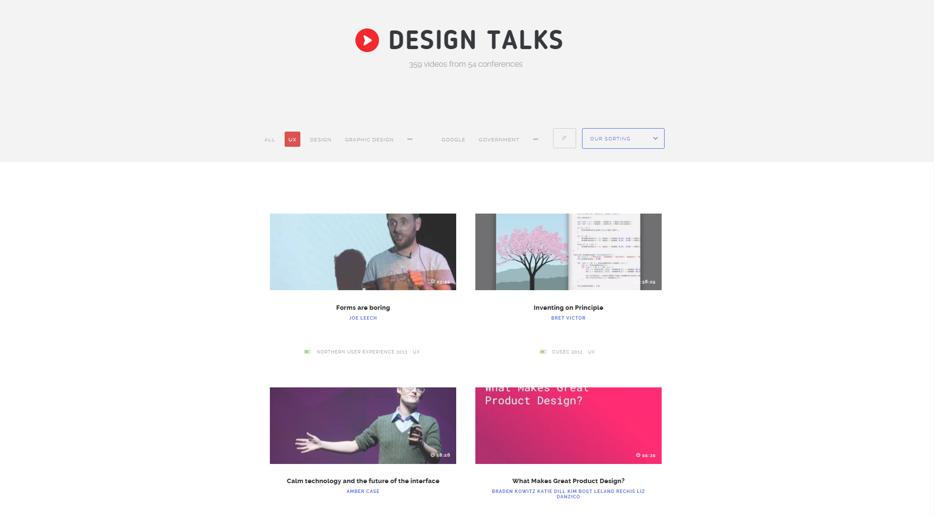 Design Talks Screenshot