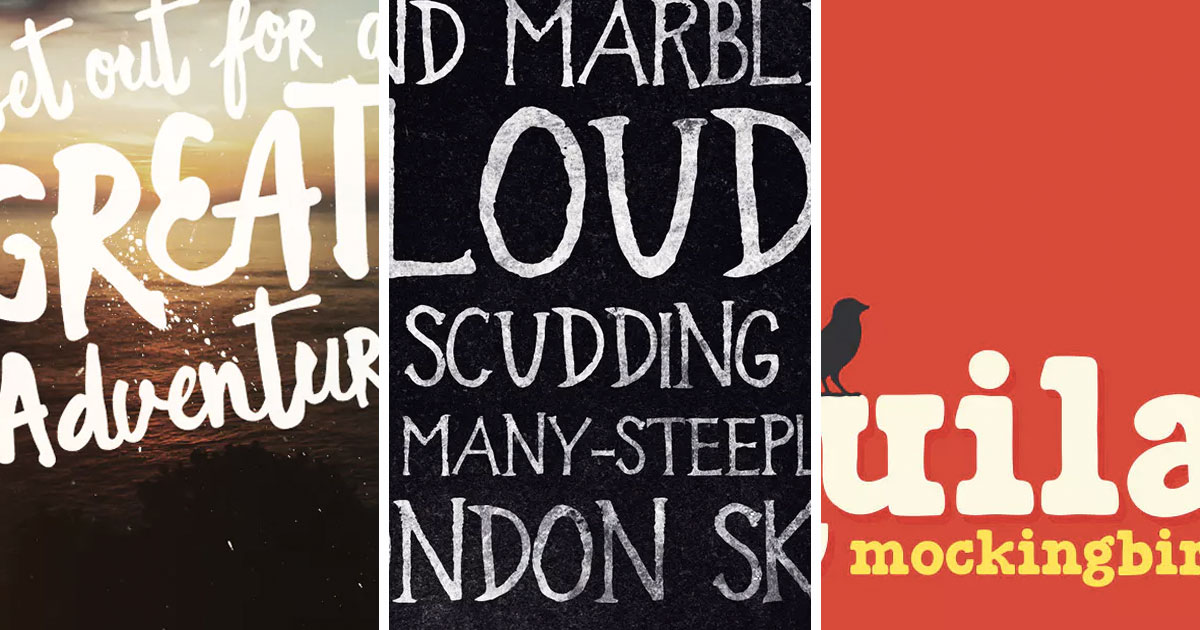David Bowie, ELO, and The National: 5 Fonts Inspired by Music