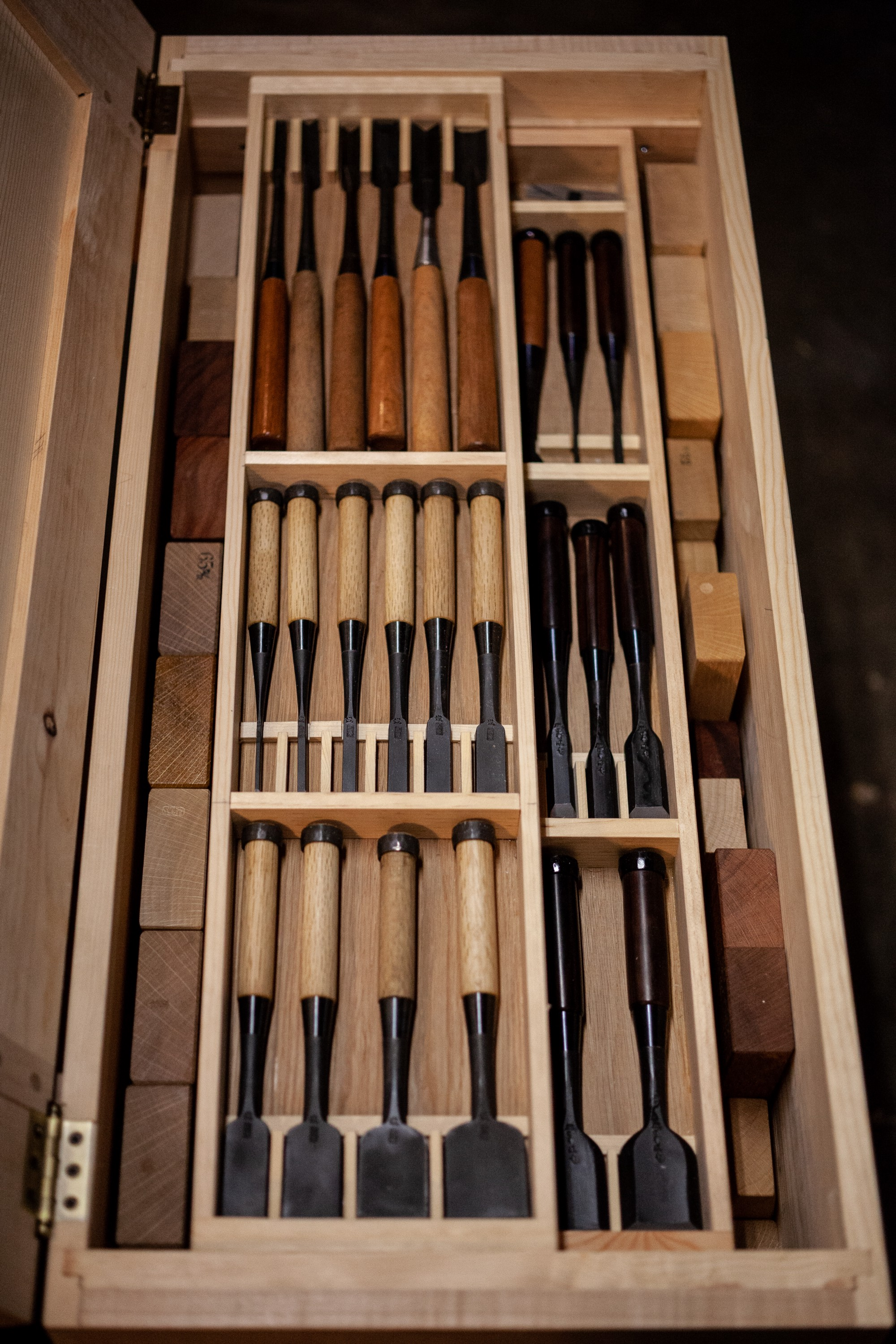 Hybrid Japanese and Western Tool Chest