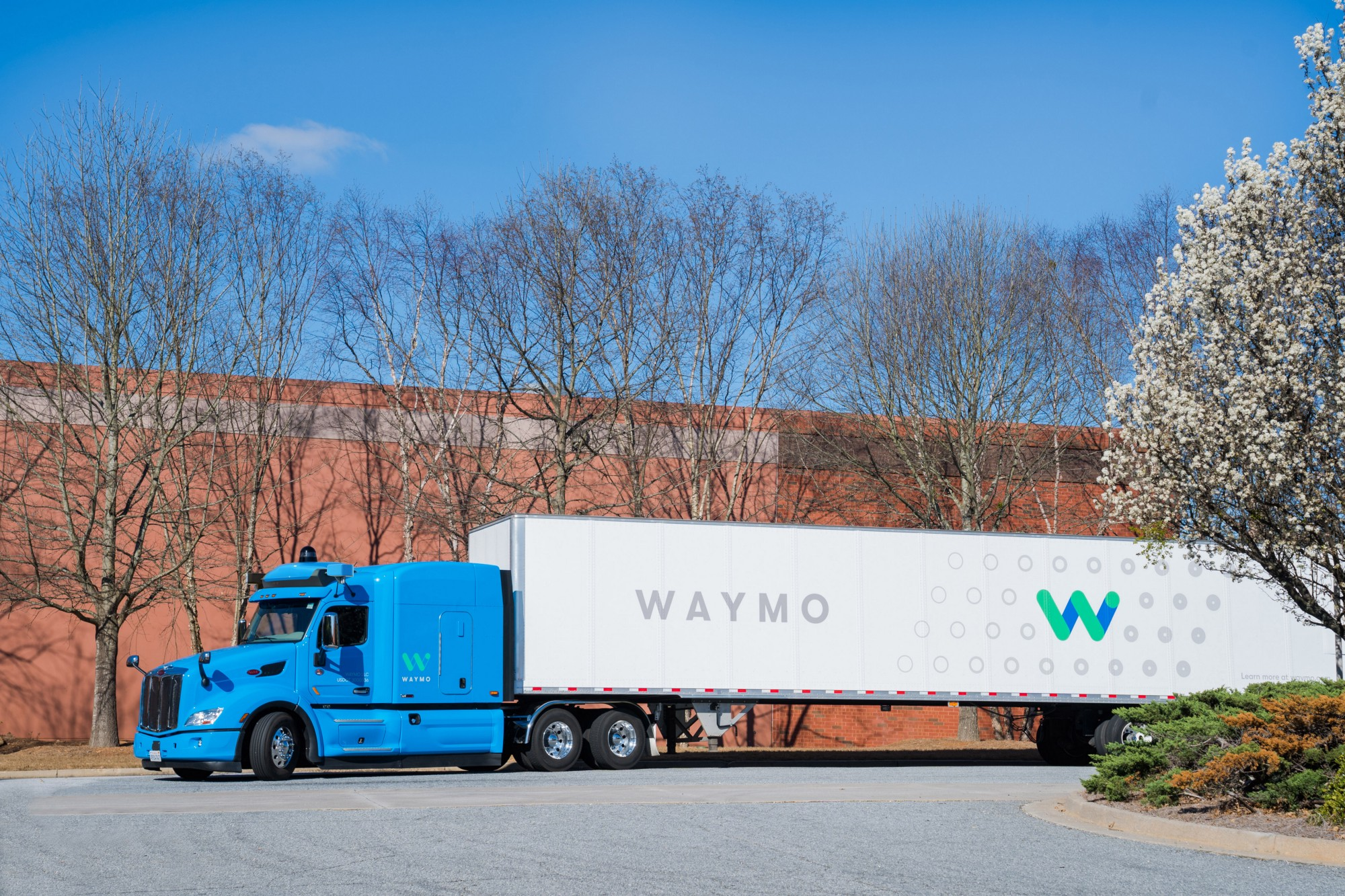 Waymo's self-driving 18-wheelers hit the road in Georgia