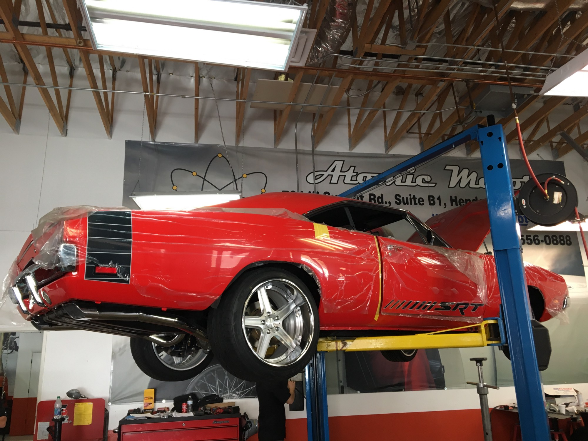 The Dream That Became A Dodge Charger Courtesy Atomic Motors - Classic car motors