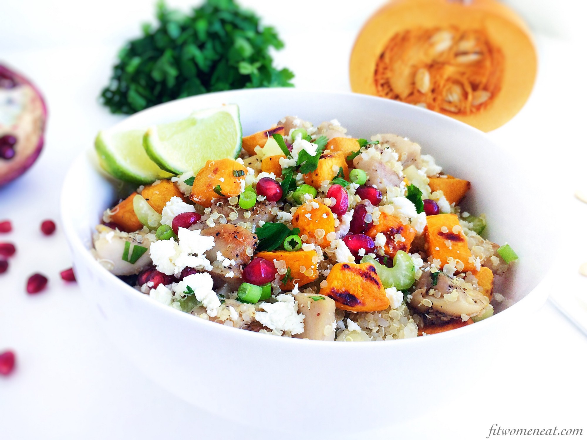 Colourful chicken quinoa salad fit women eat you can tell i love colourful foods right eating colourful vegetables and fruits has many benefits healthy eating is not just about how many vegetable forumfinder Images
