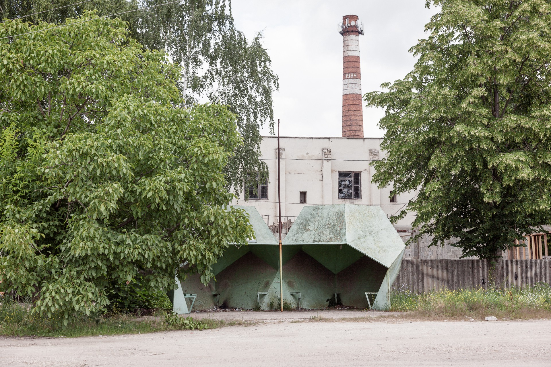 Crazy and Daring, These Concrete Soviet Bus Stops are Tributes to their Unknown Designers
