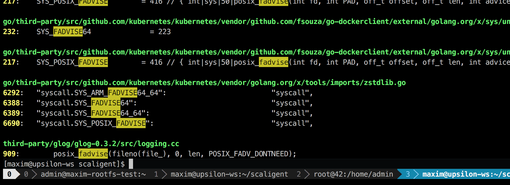 Another Reason Why Your Docker Containers May Be Slow Fuse Box Log In Its The Third Party Logging Library Called Glog We Use It All Over Project And This Particular Line Is Logfileobjectwrite Perhaps