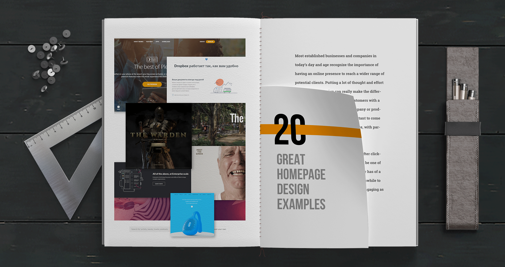 20 Greatest Home Page Design Examples – Muzli -Design Inspiration