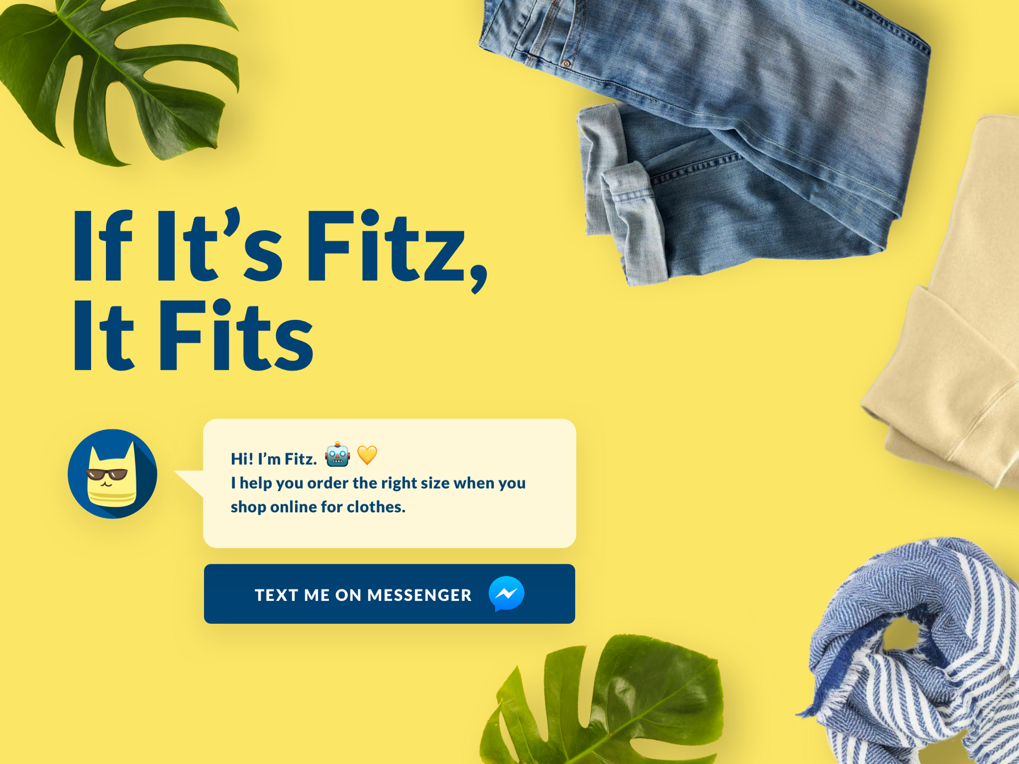Fitz shopping bot — a UX case study