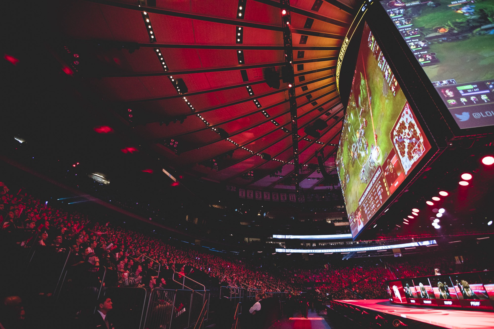 2016 League Of Legends Semi Finals At Madison Square Garden (Photo: Riot)