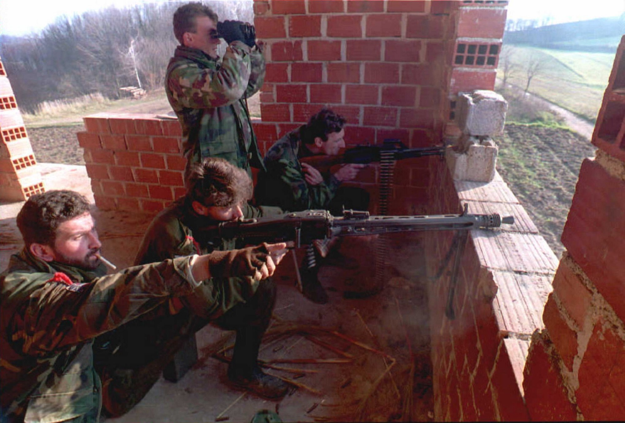 the bosnian war the fight for independence Major causes of the war  essentially, the bosnian war was fought because  called for bosnian independence  preventing the bosnian government from obtaining the heavy artillery and arms that it needed to fight the more.