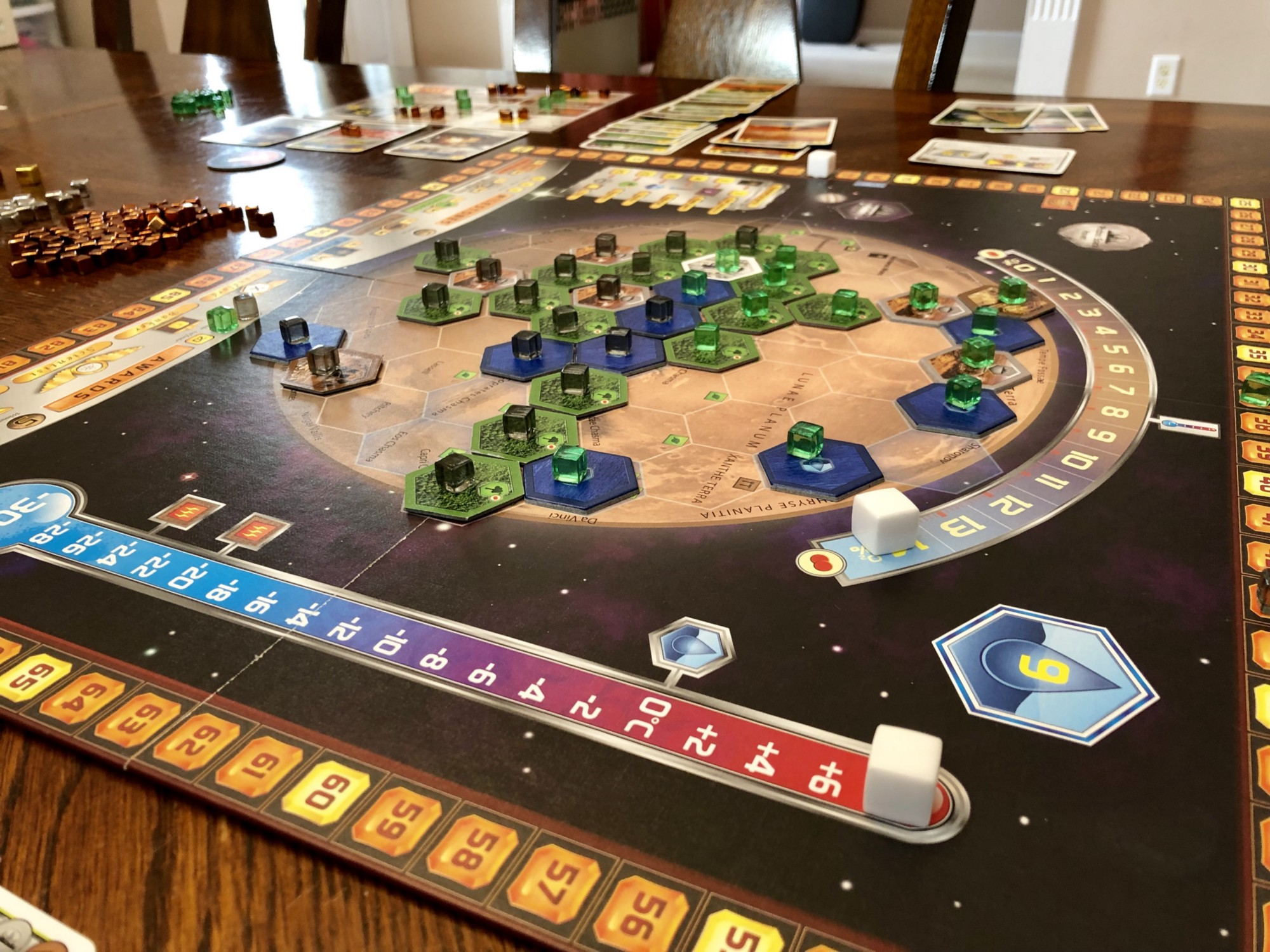 Terraforming Mars Hacked Tabletop Medium Speed Circuit Image Boardgamegeek The Taming Of Red Planet Has Begin Corporations Are Competing To Transform Into A Habitable By Spending Vast Resources
