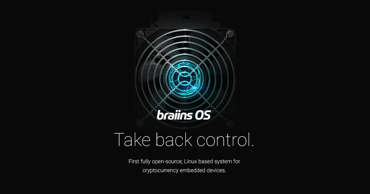 medium.com - braiins systems - Introducing Braiins OS, open-source system for cryptocurrency devices