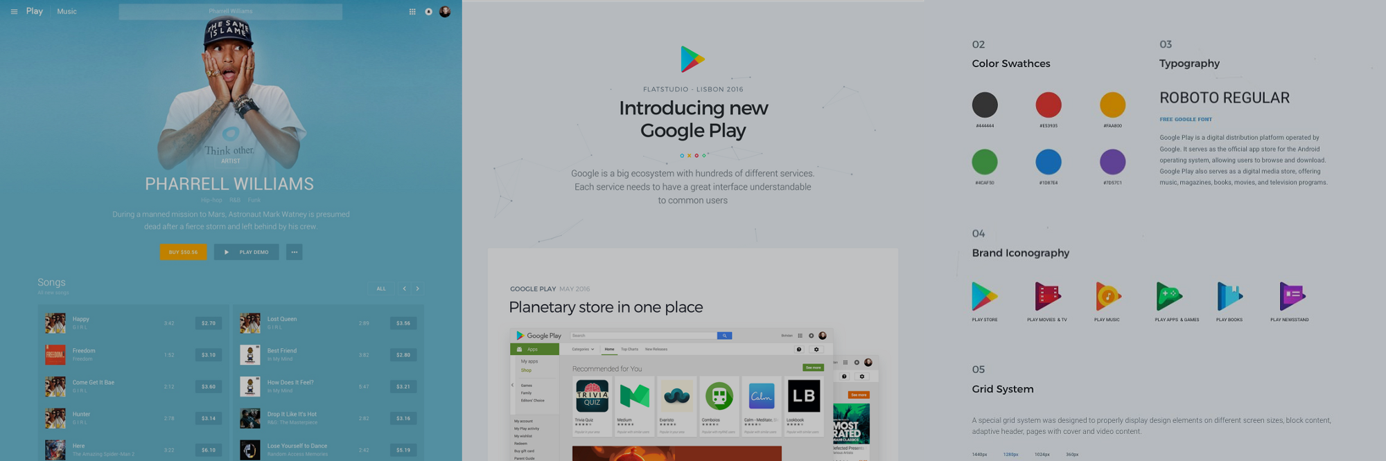 The Material re-Design of Google Play That Will Blow Your Mind