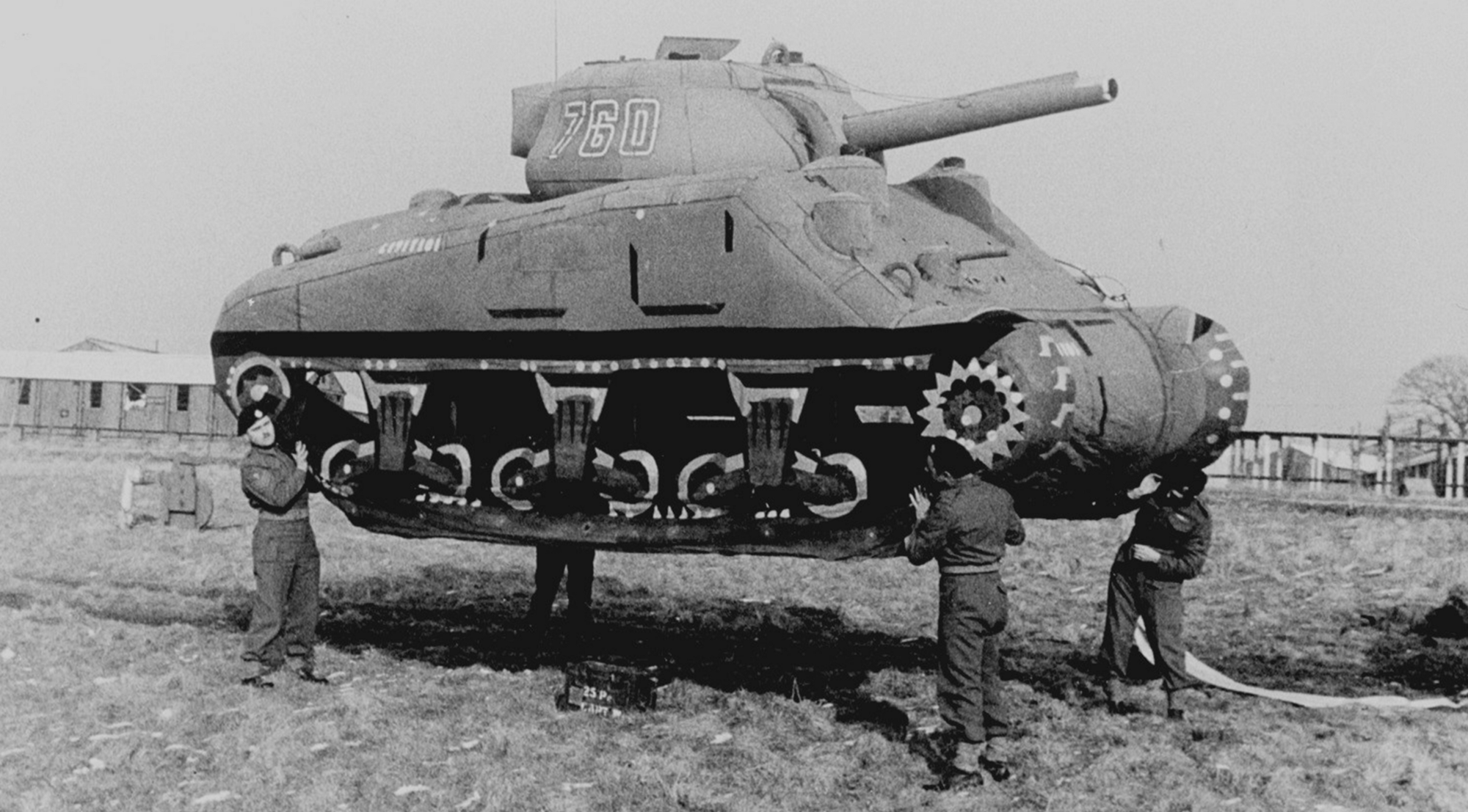 watch how the creative deceptions of the ghost army helped win wwii