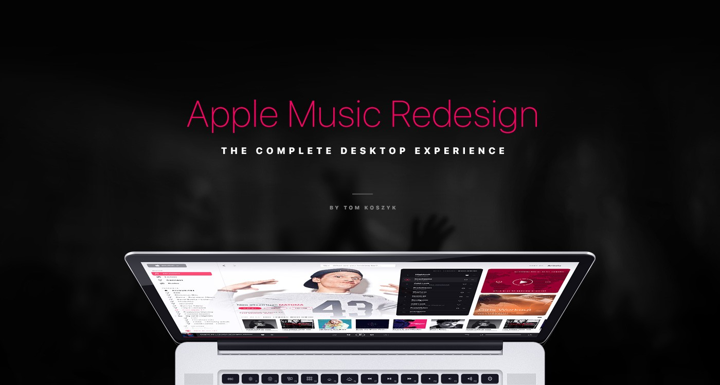Apple Music Redesign: The Complete Desktop Experience.