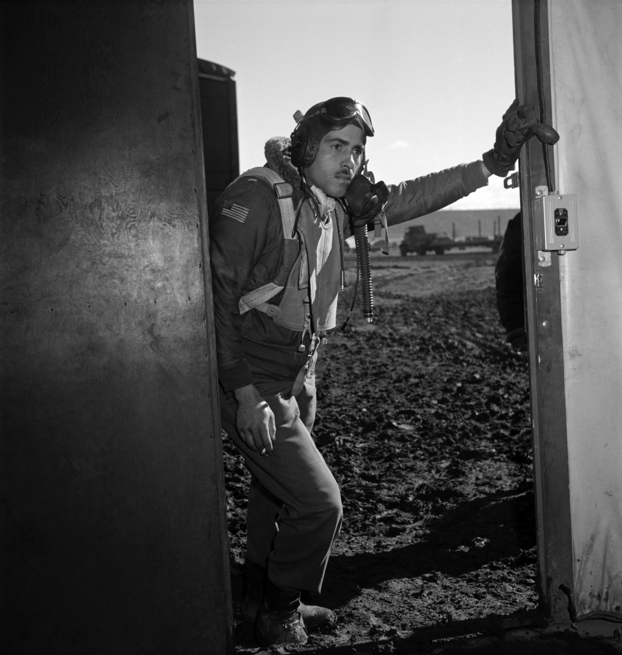 These photos of the Tuskegee Airmen show cool dedication in the face of wartime segregation