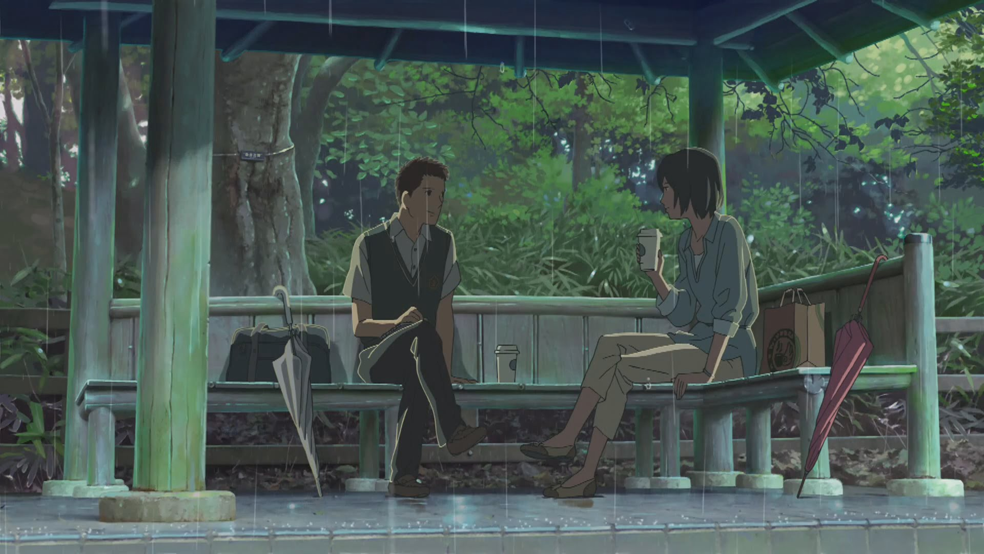 An Analysis Of Makoto Shinkai S The Garden Of Words
