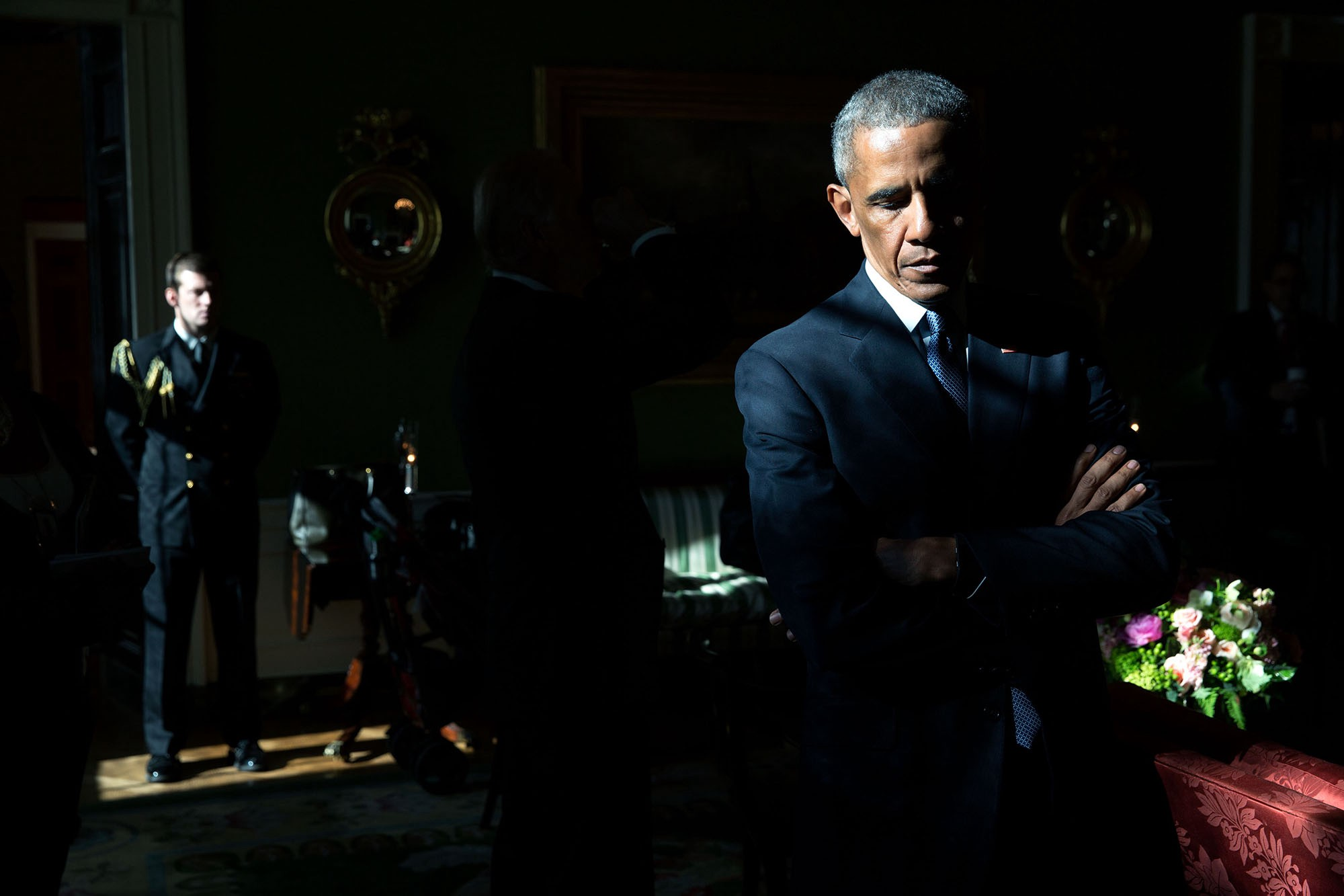 The main photographer of Barack Obama presented his best shots for 2015