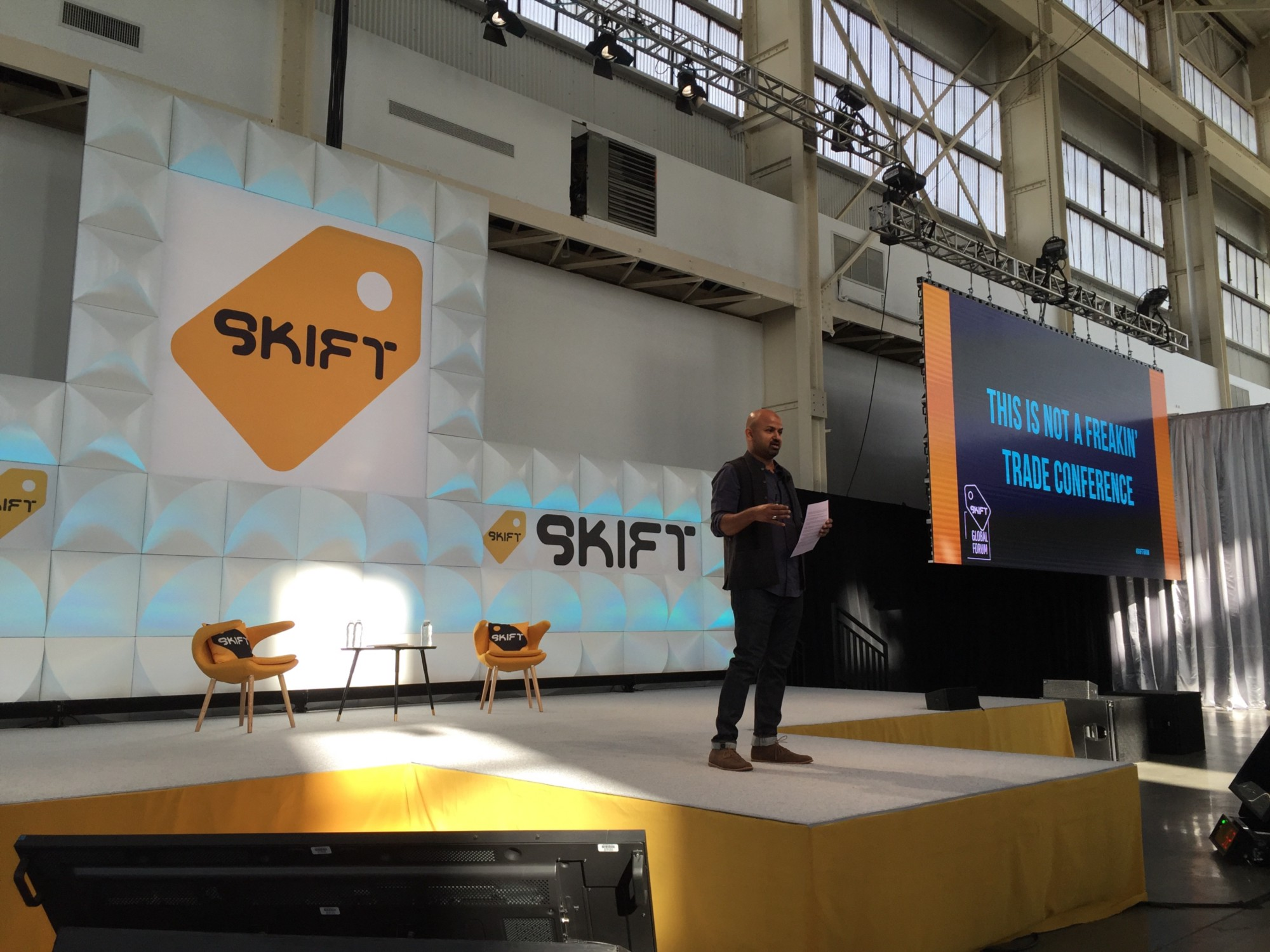 We went to the Skift Forum 2015 in Brooklyn…